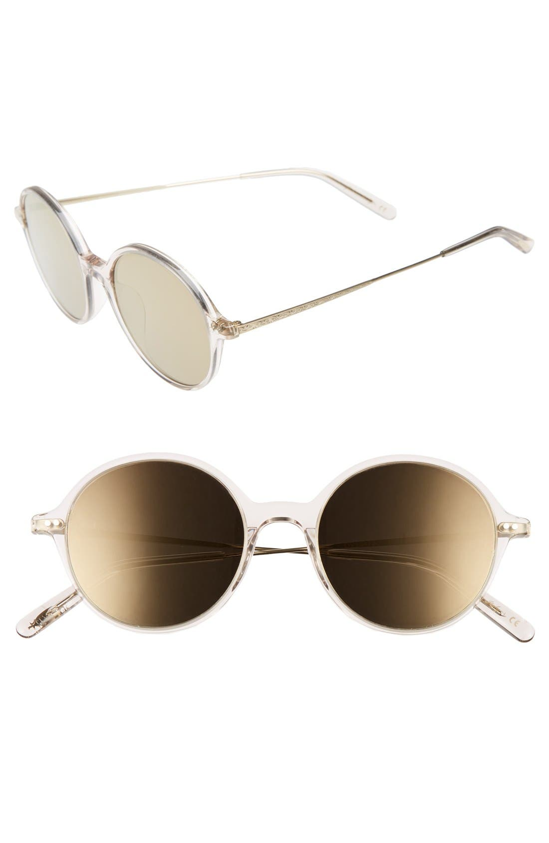 Corby 51mm Round Sunglasses,                             Main thumbnail 3, color,