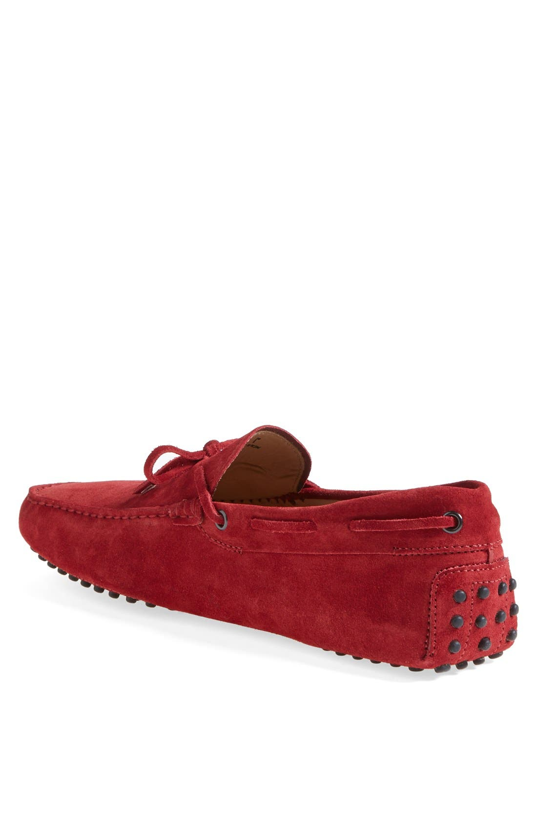 Gommini Tie Front Driving Moccasin,                             Alternate thumbnail 63, color,