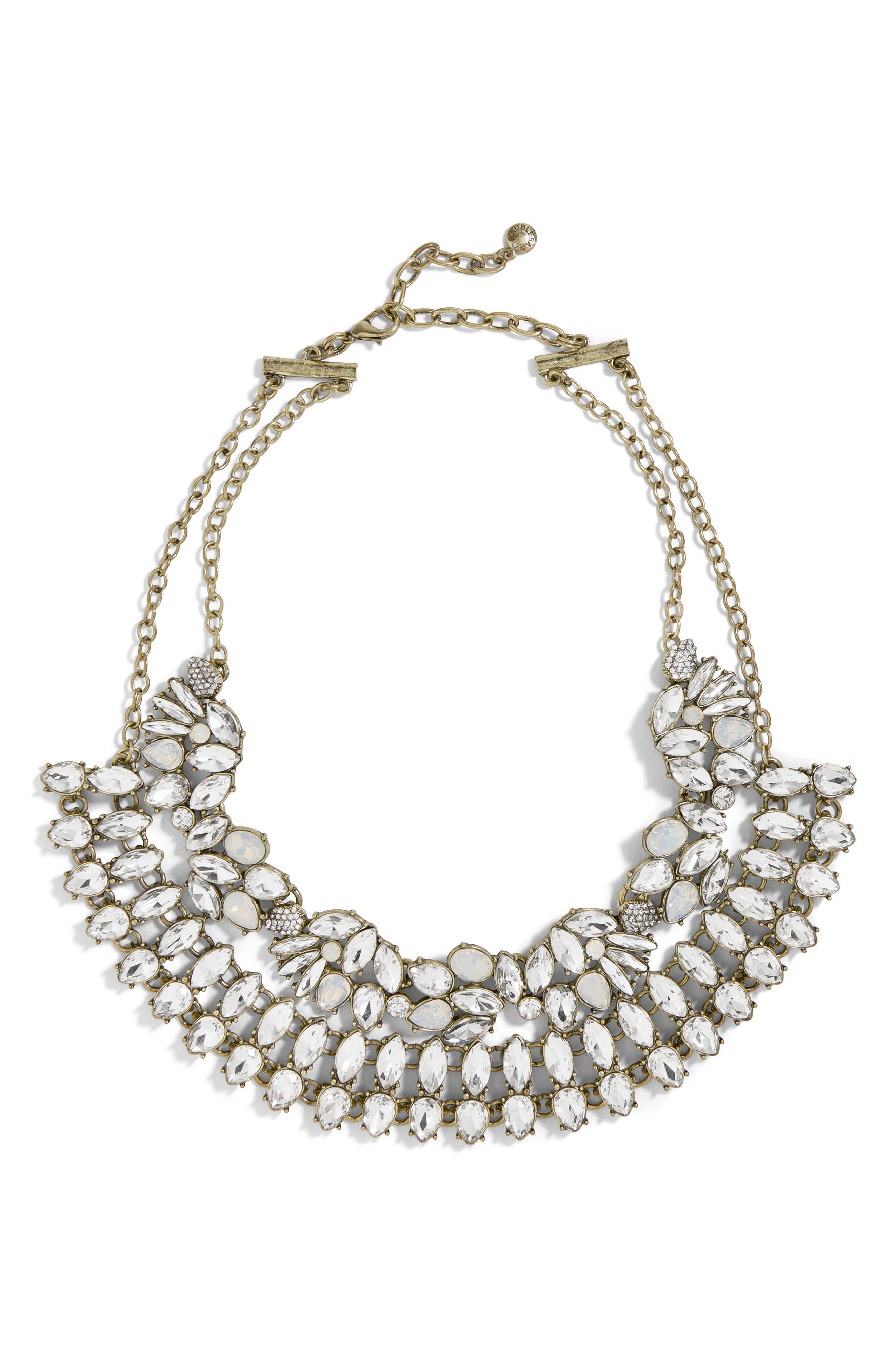 Evangeline Crystal Statement Necklace,                         Main,                         color, 040