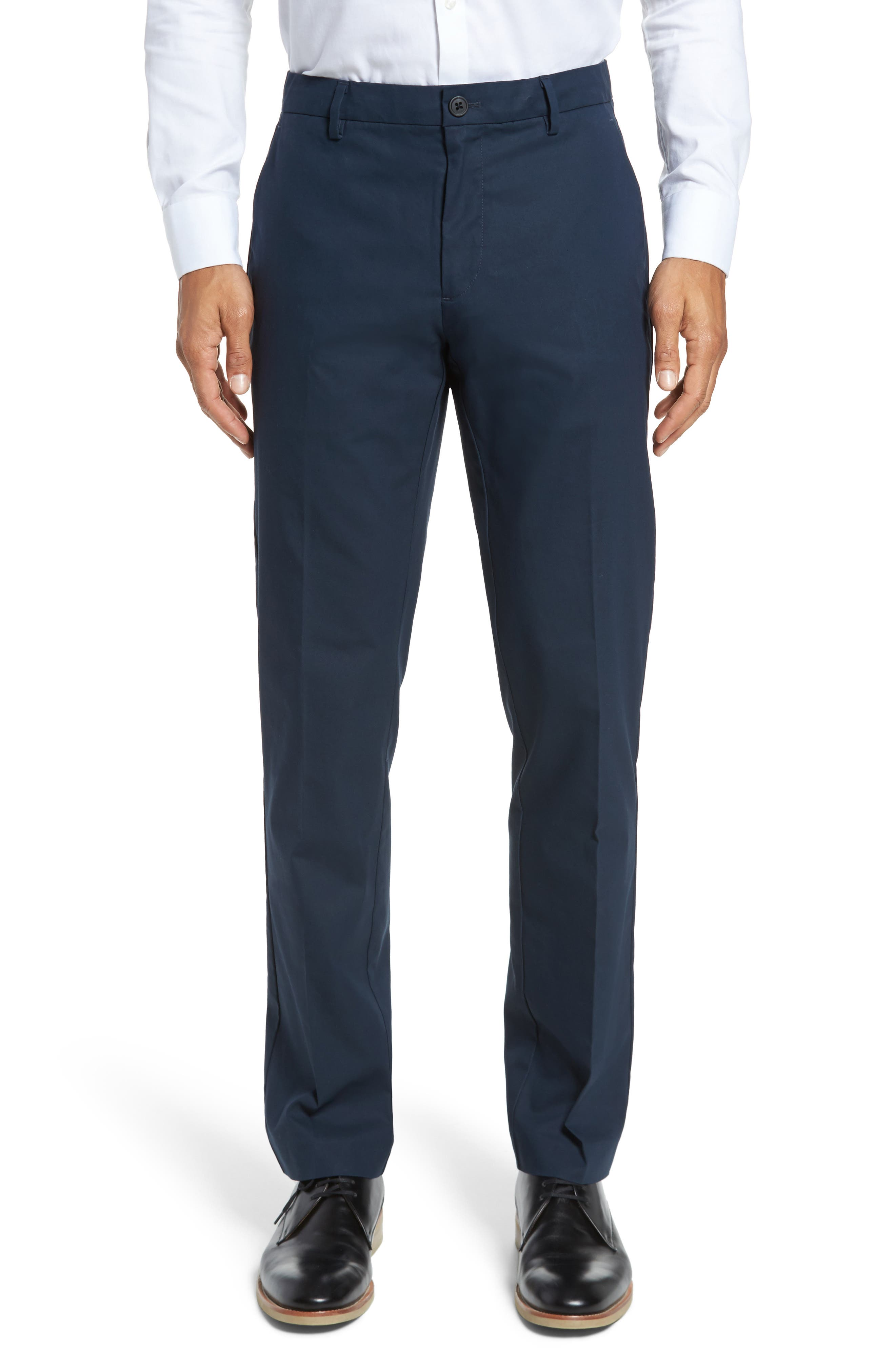 Slim Fit Tech Chinos, Main, color, NEW NAVY