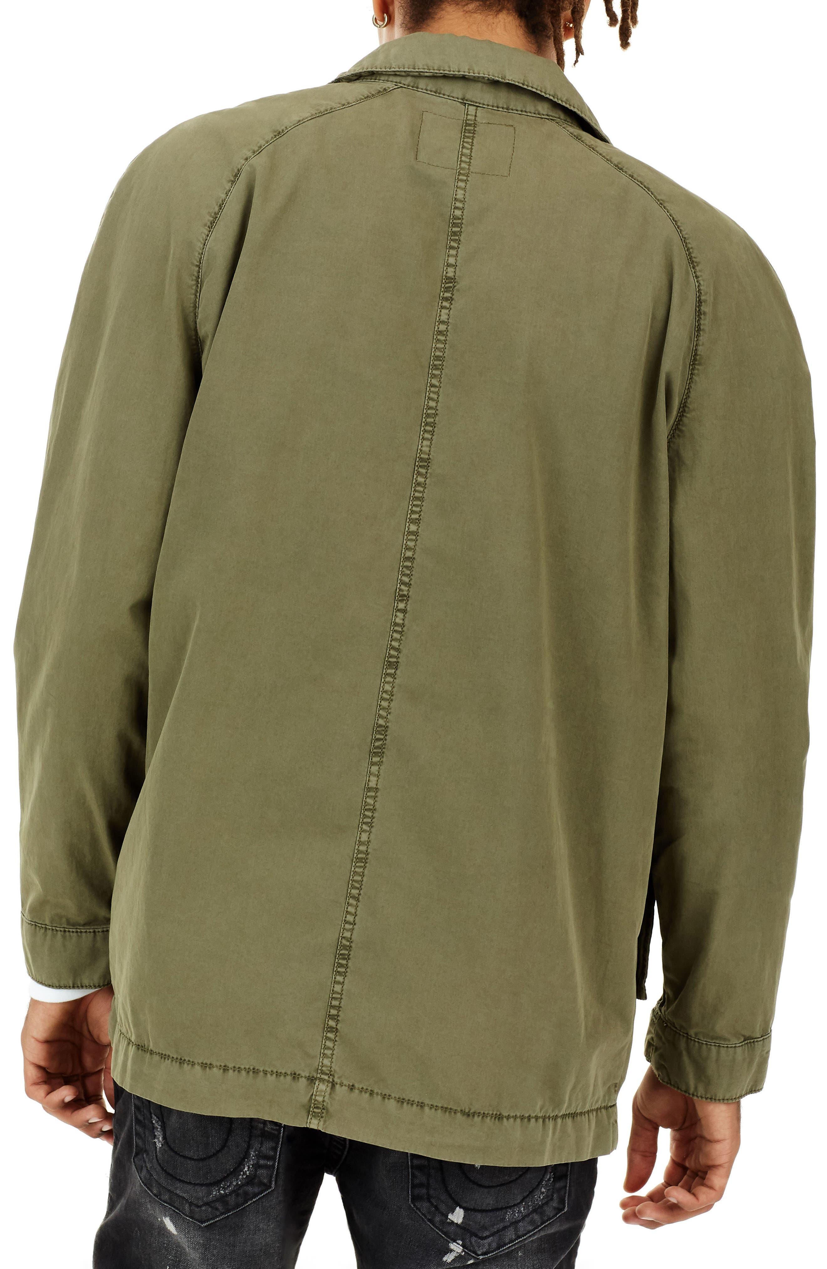 True Religion Digital Harness Strap Field Jacket,                             Alternate thumbnail 2, color,