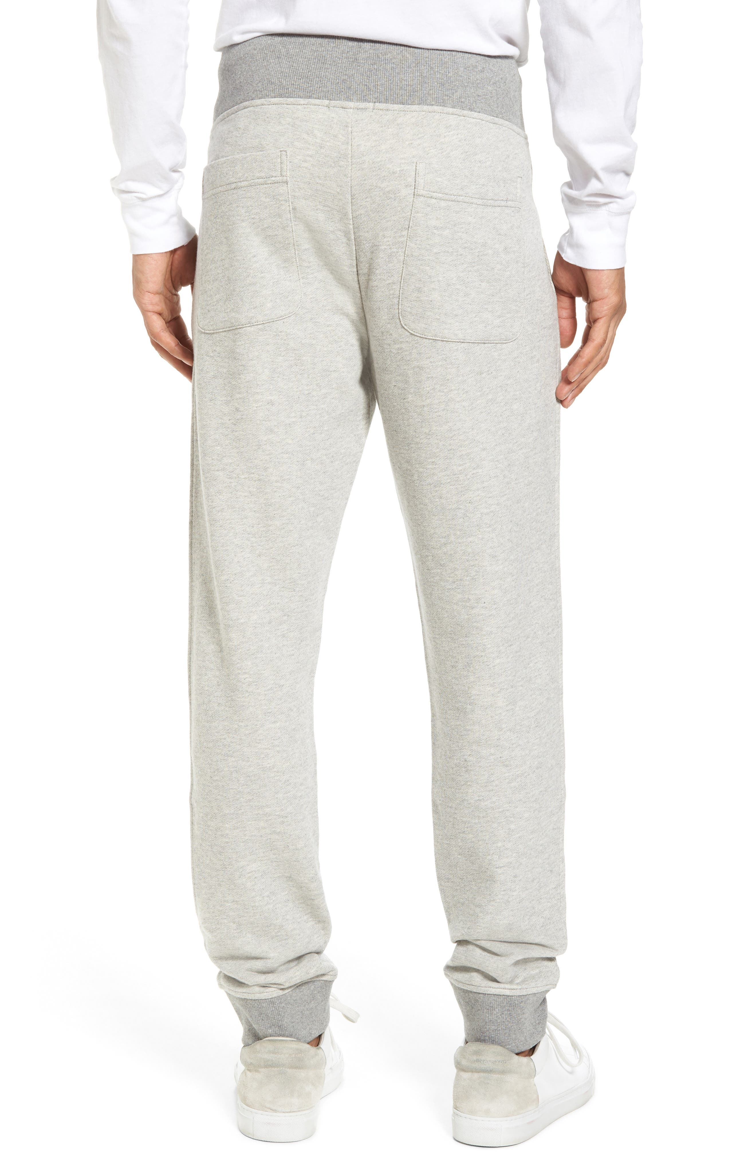 French Terry Regular Fit Sweatpants,                             Alternate thumbnail 4, color,