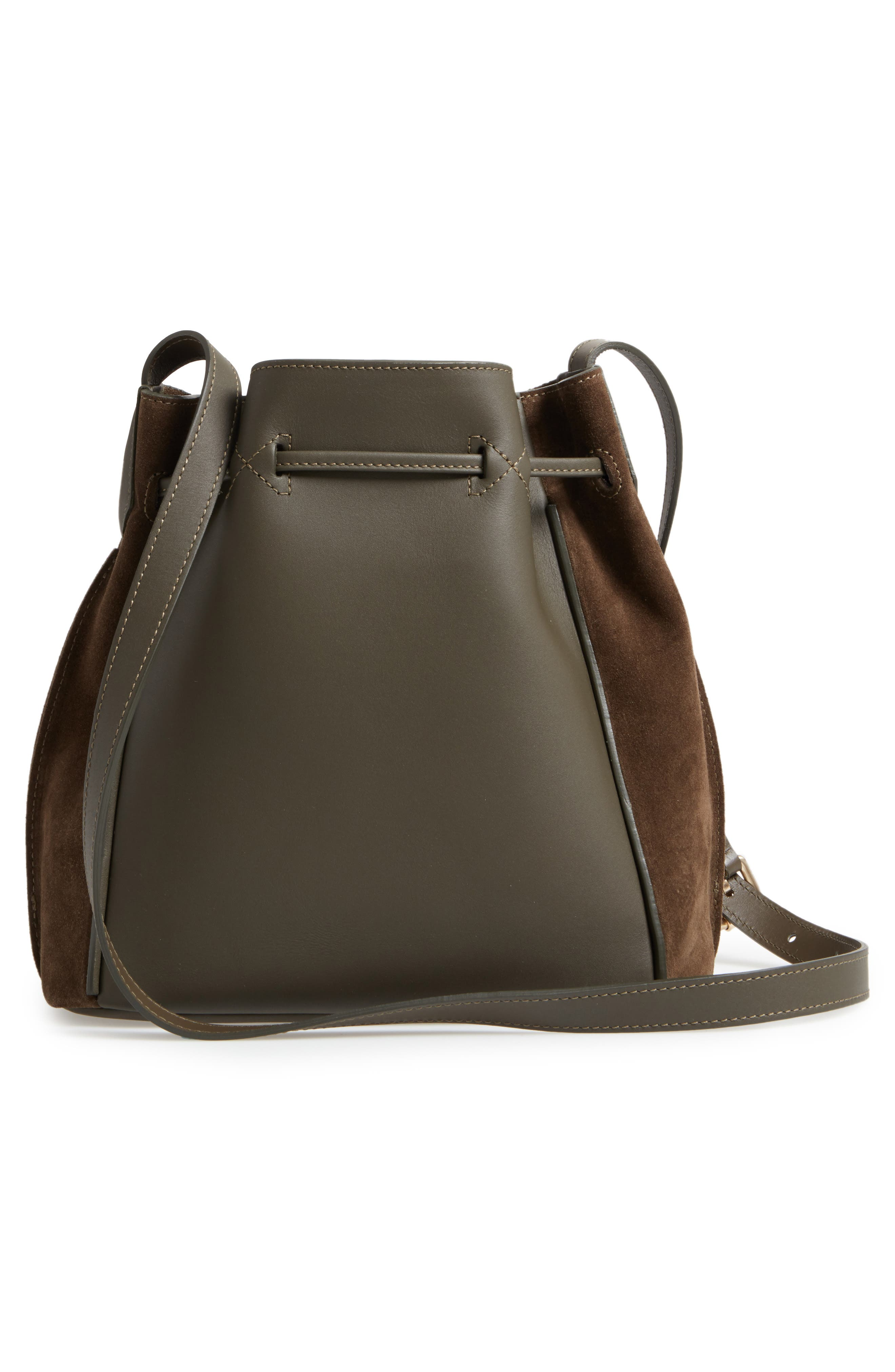 Small Penelope Leather Tote,                             Alternate thumbnail 3, color,                             300