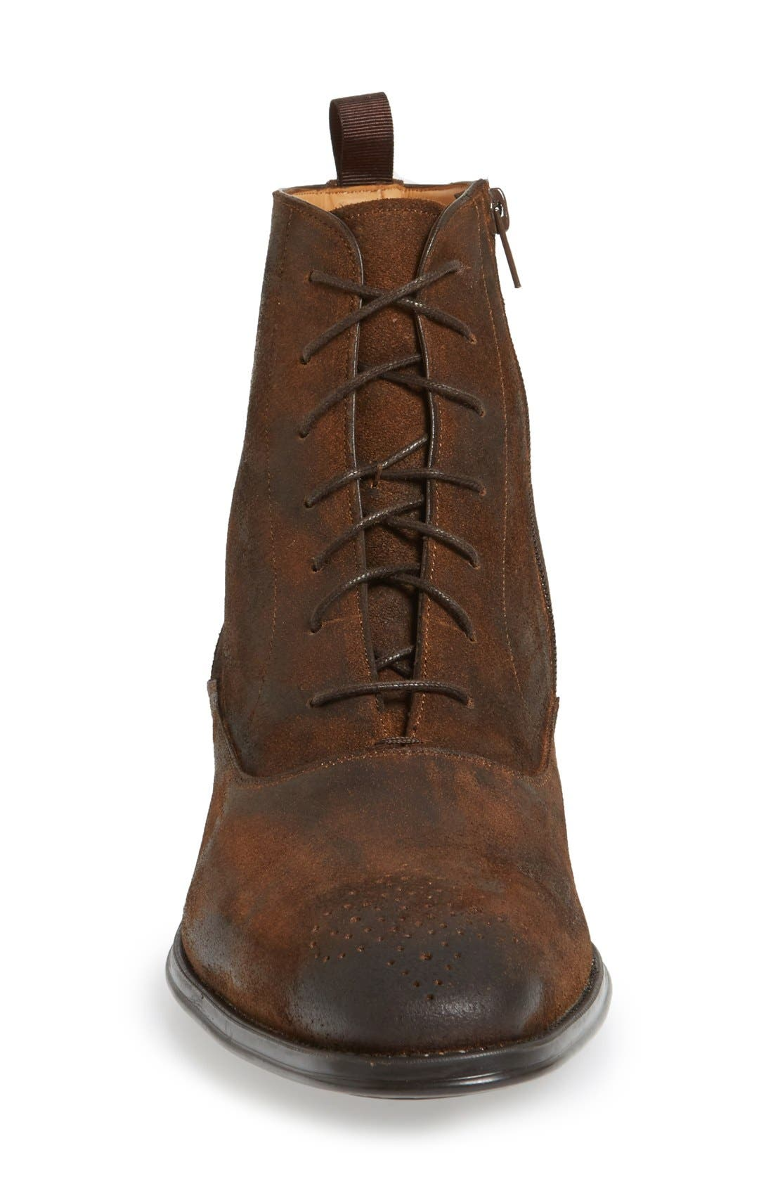 'Tarzo II' Medallion Toe Boot,                             Alternate thumbnail 3, color,                             235