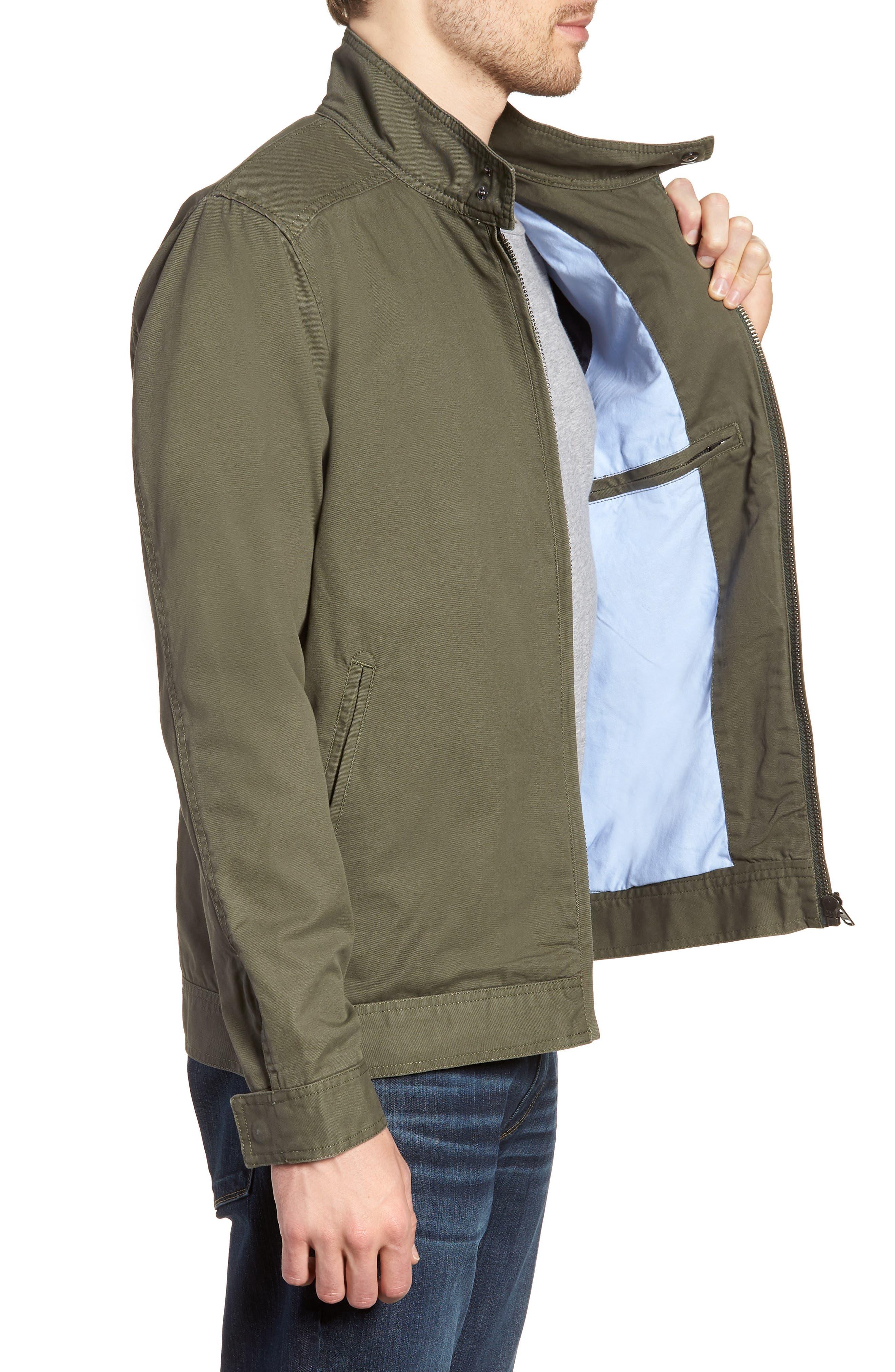 'Armitage' Harrington Jacket,                             Alternate thumbnail 3, color,                             OLIVE