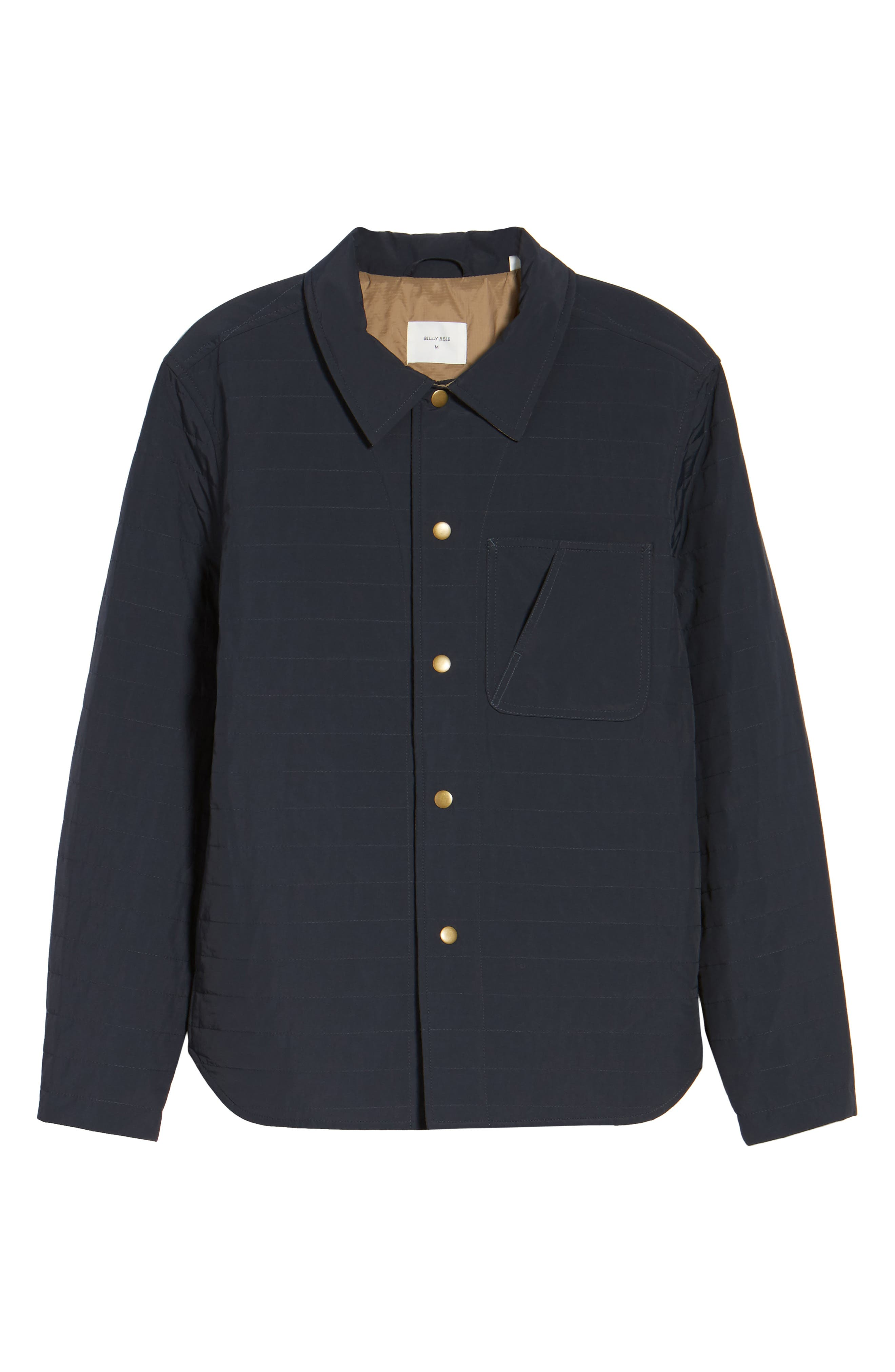 Leroy Quilted Shirt Jacket,                             Alternate thumbnail 5, color,                             410