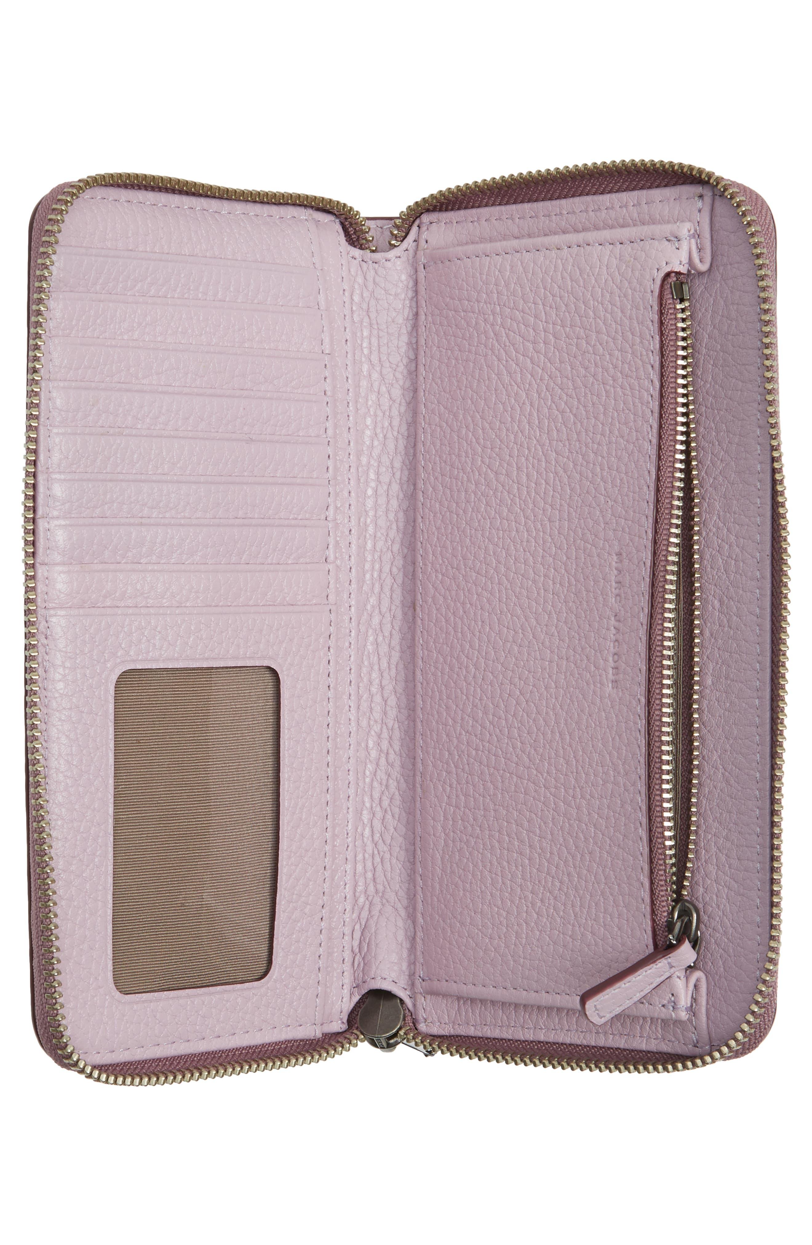 'Recruit Vertical' Leather Wallet,                             Alternate thumbnail 4, color,                             500