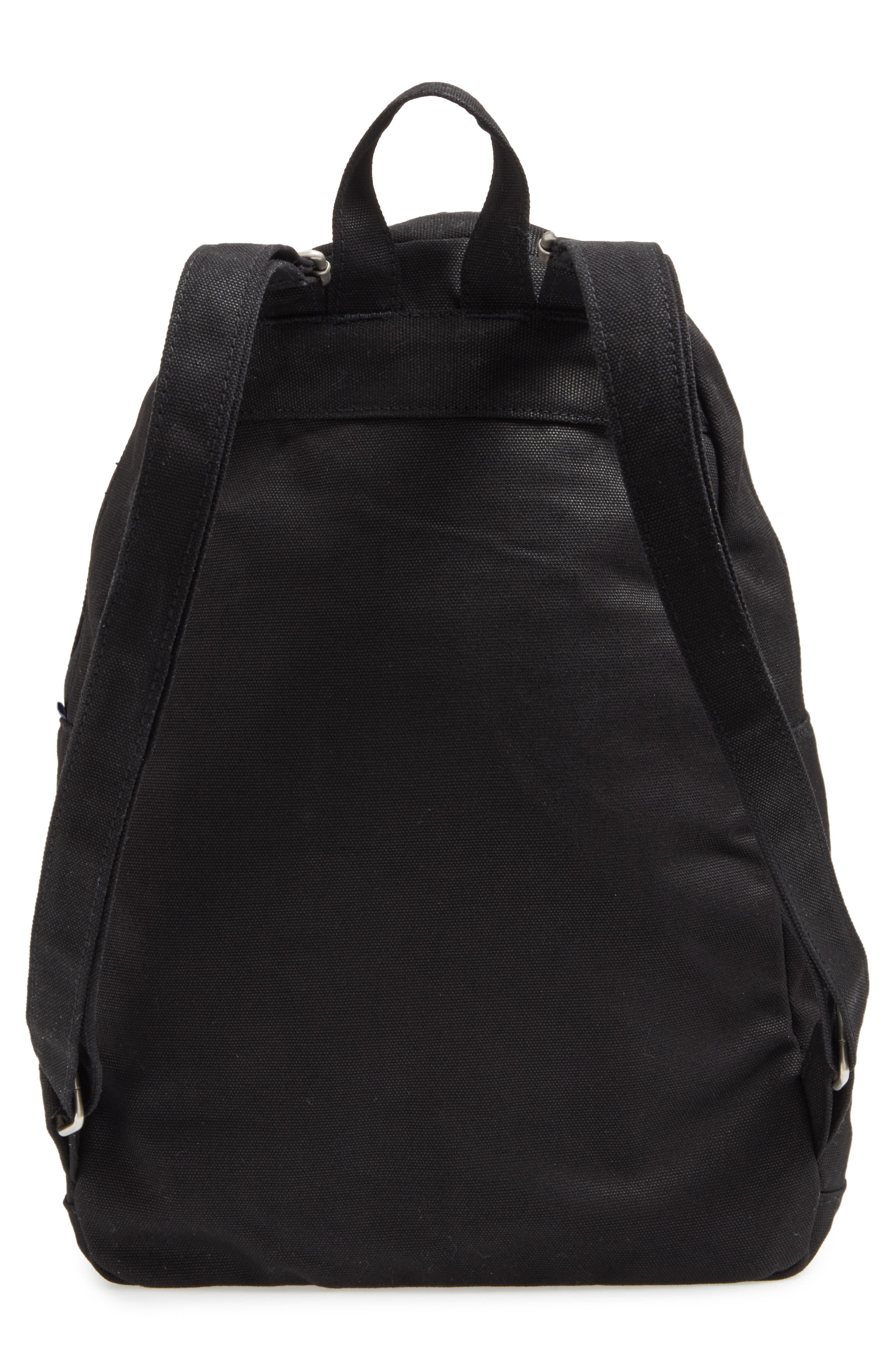 Canvas Backpack,                             Alternate thumbnail 3, color,                             001