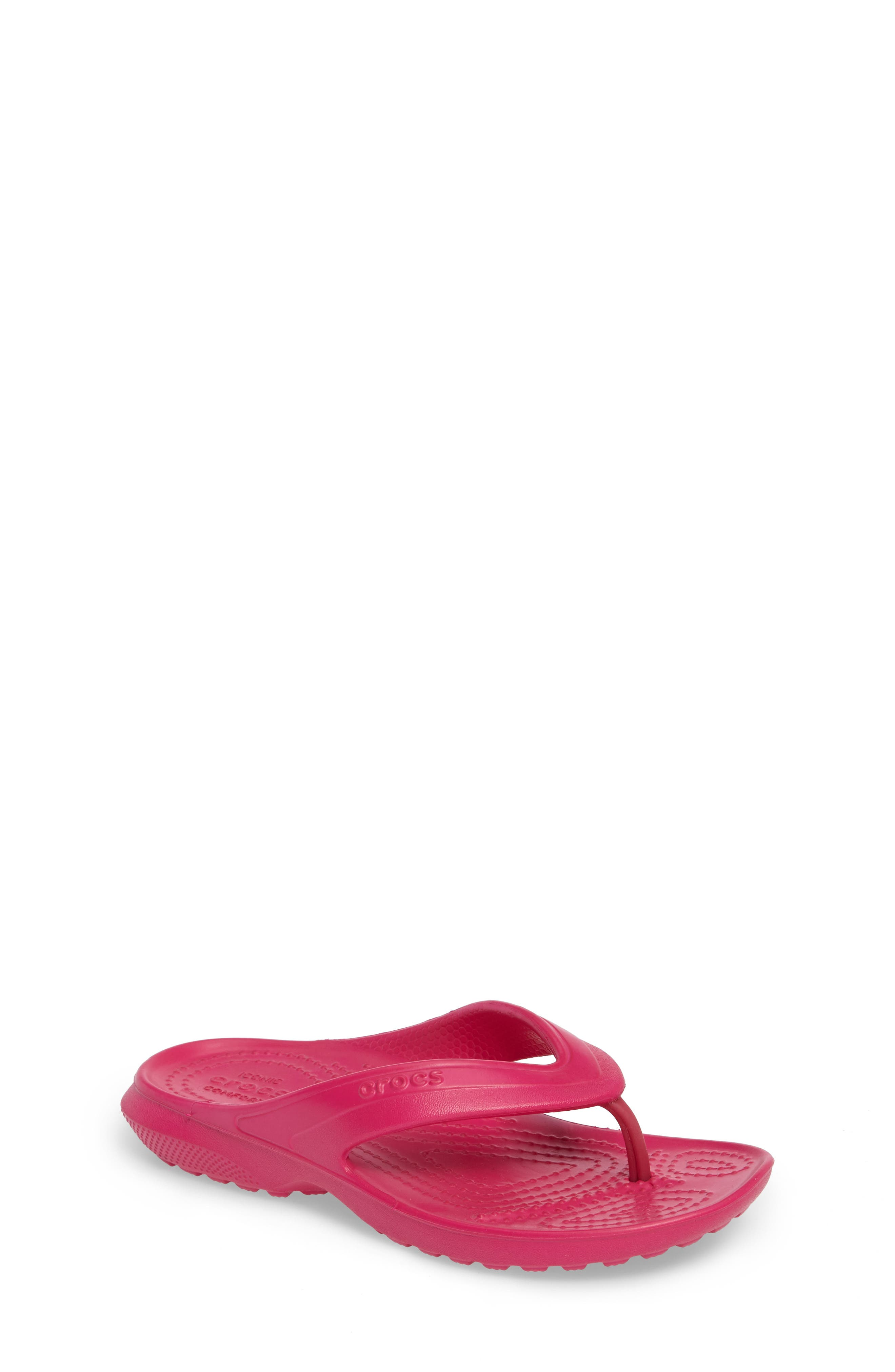 Classic Flip Flop,                             Main thumbnail 1, color,                             CANDY PINK
