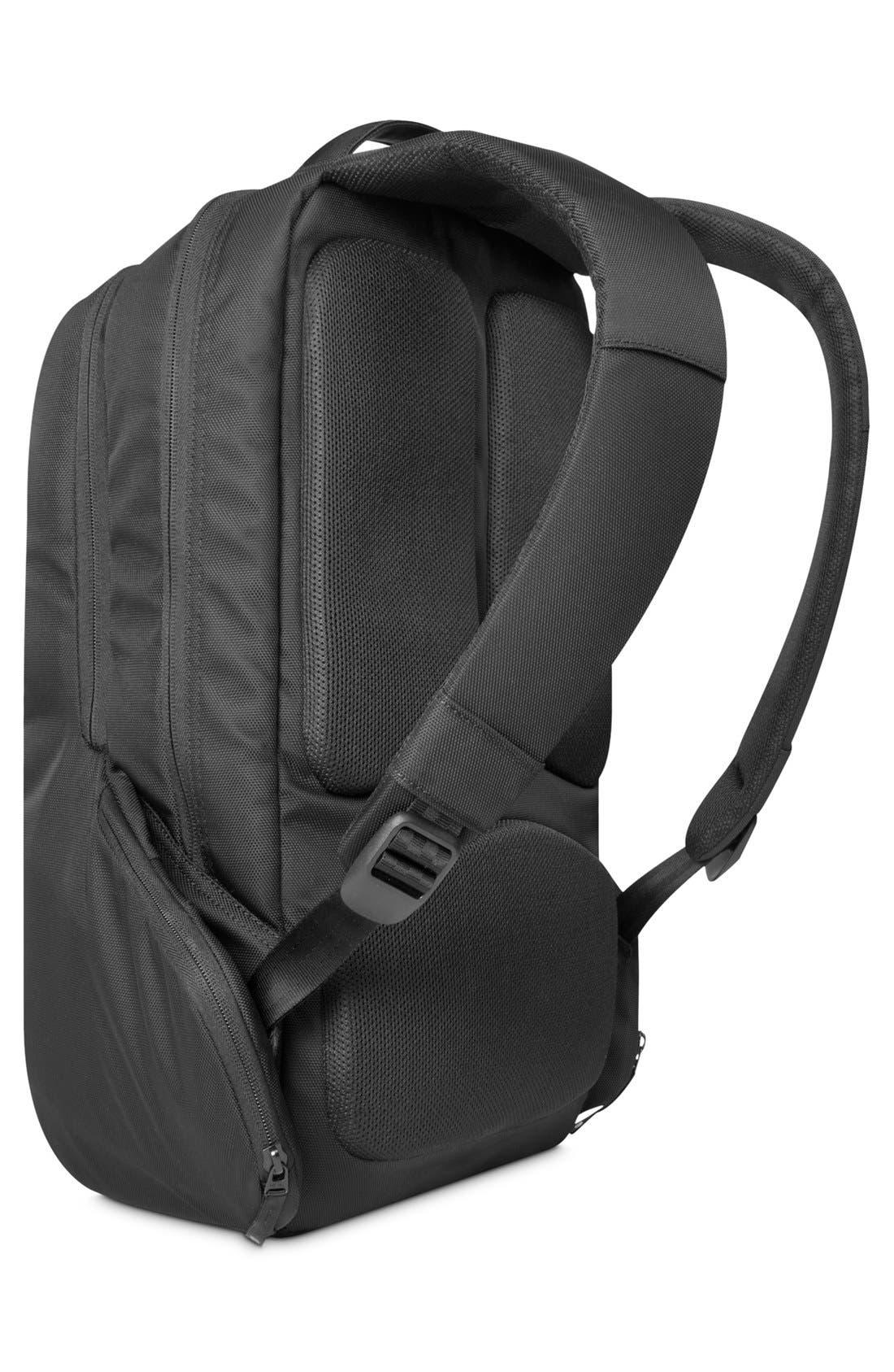 Icon Slim Backpack,                             Alternate thumbnail 3, color,                             BLACK
