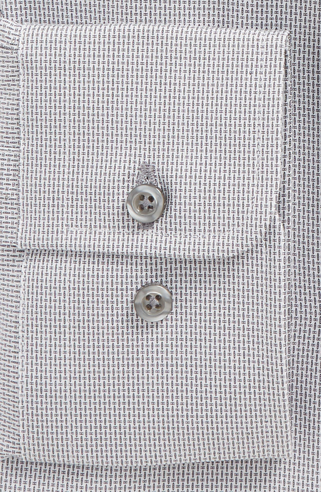 Regular Fit Solid Dress Shirt,                             Alternate thumbnail 3, color,