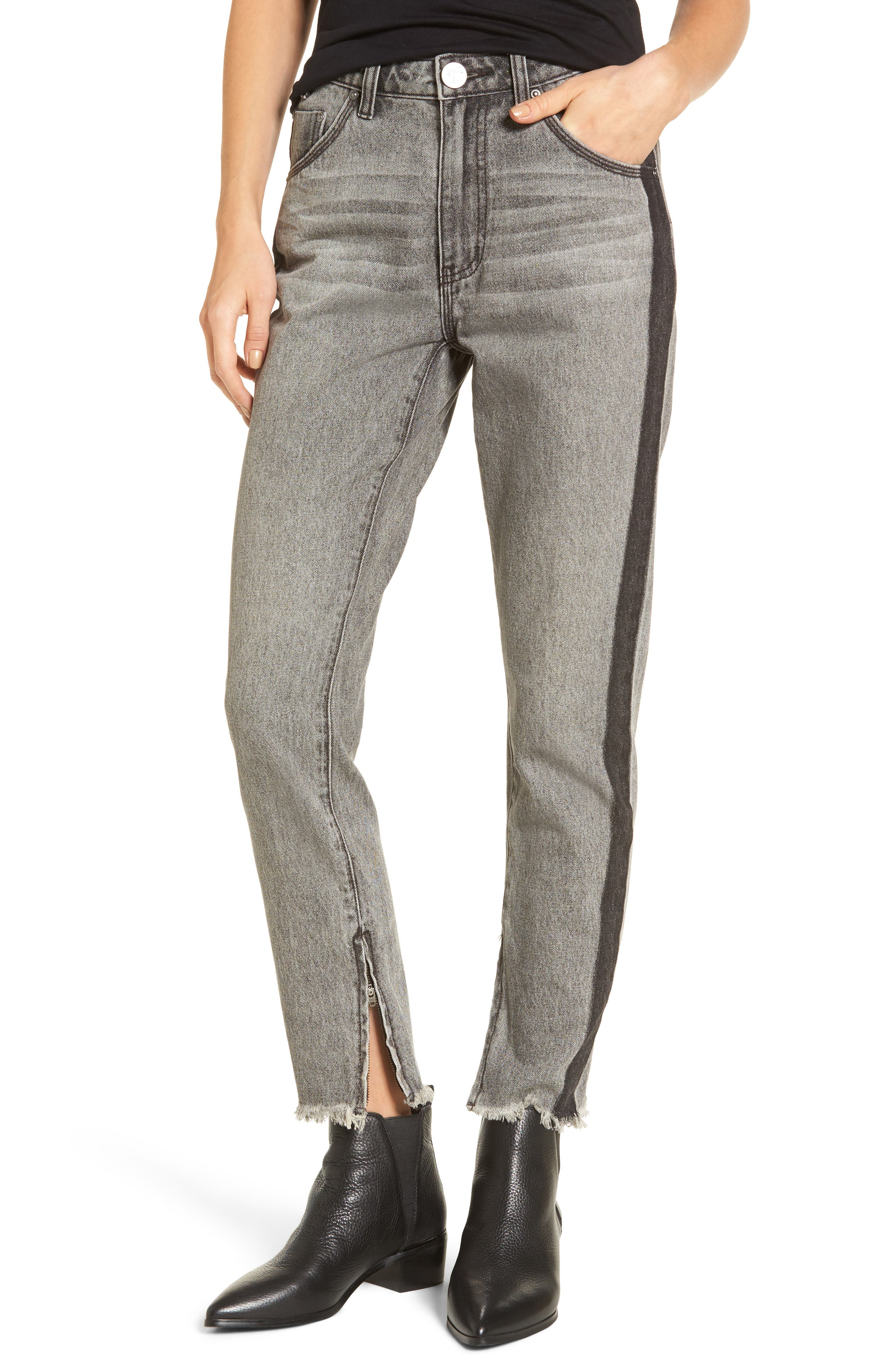 Freebirds High Waist Skinny Jeans,                         Main,                         color, 060