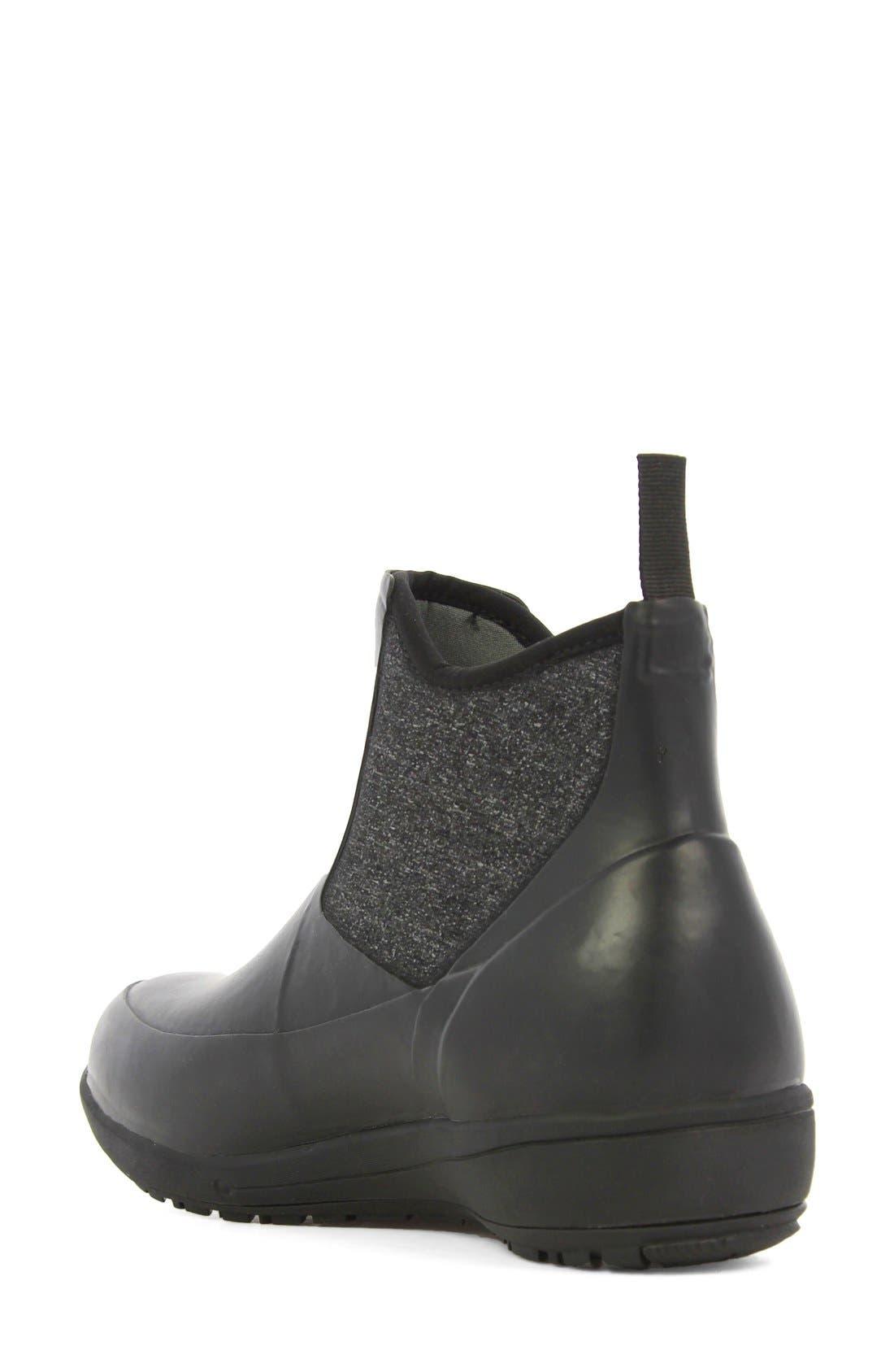 'Cami' Waterproof Short Boot,                             Alternate thumbnail 2, color,                             001
