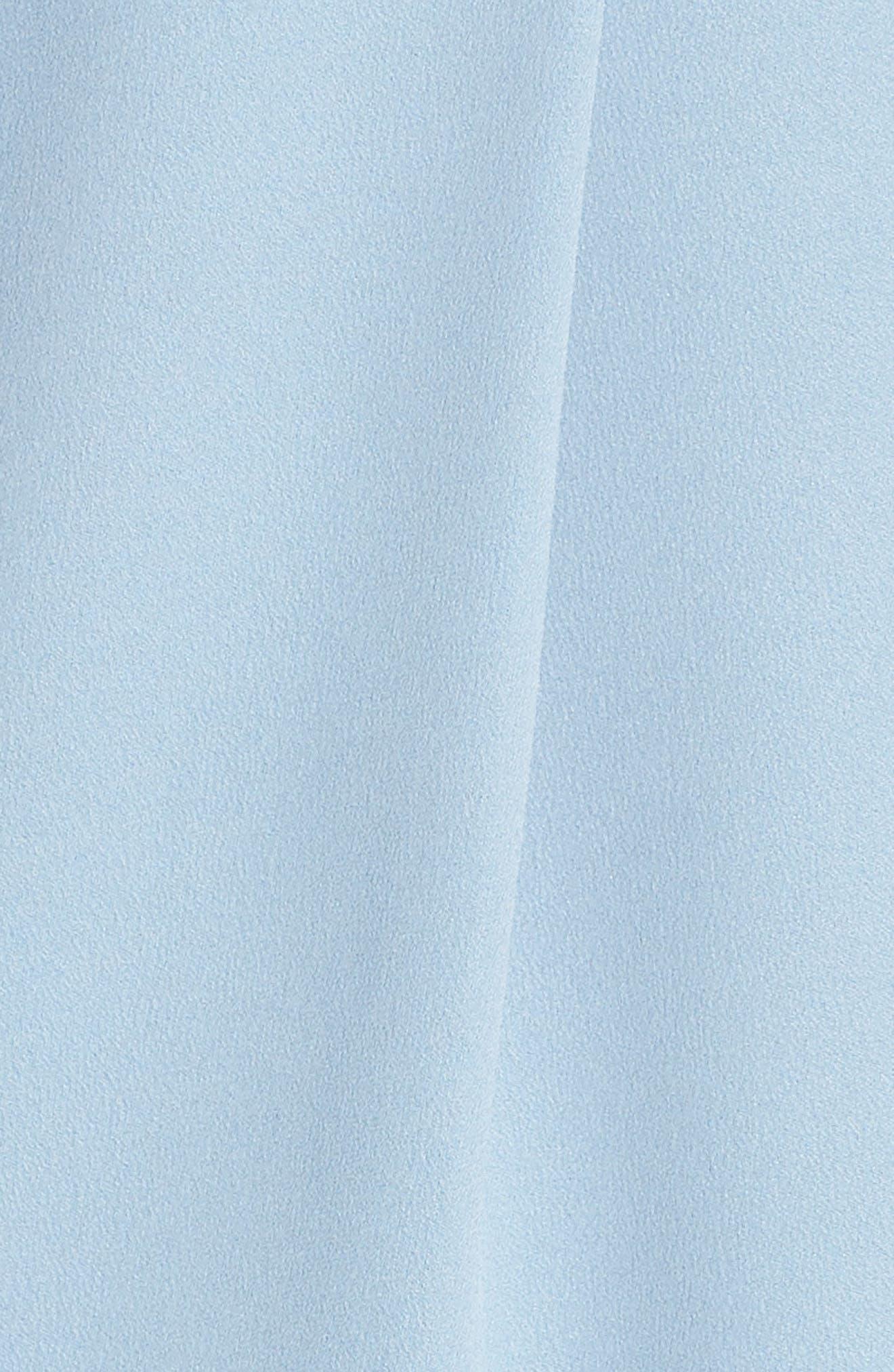 Florence Drape Sheath Dress,                             Alternate thumbnail 6, color,