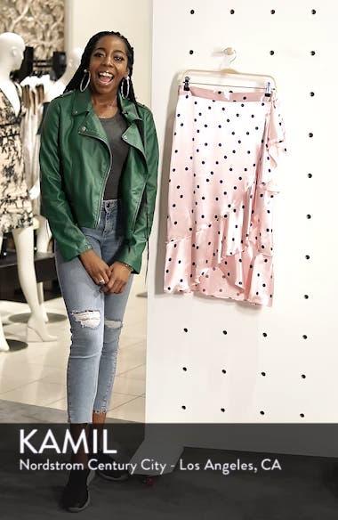 Satin Spot Ruffle Skirt, sales video thumbnail