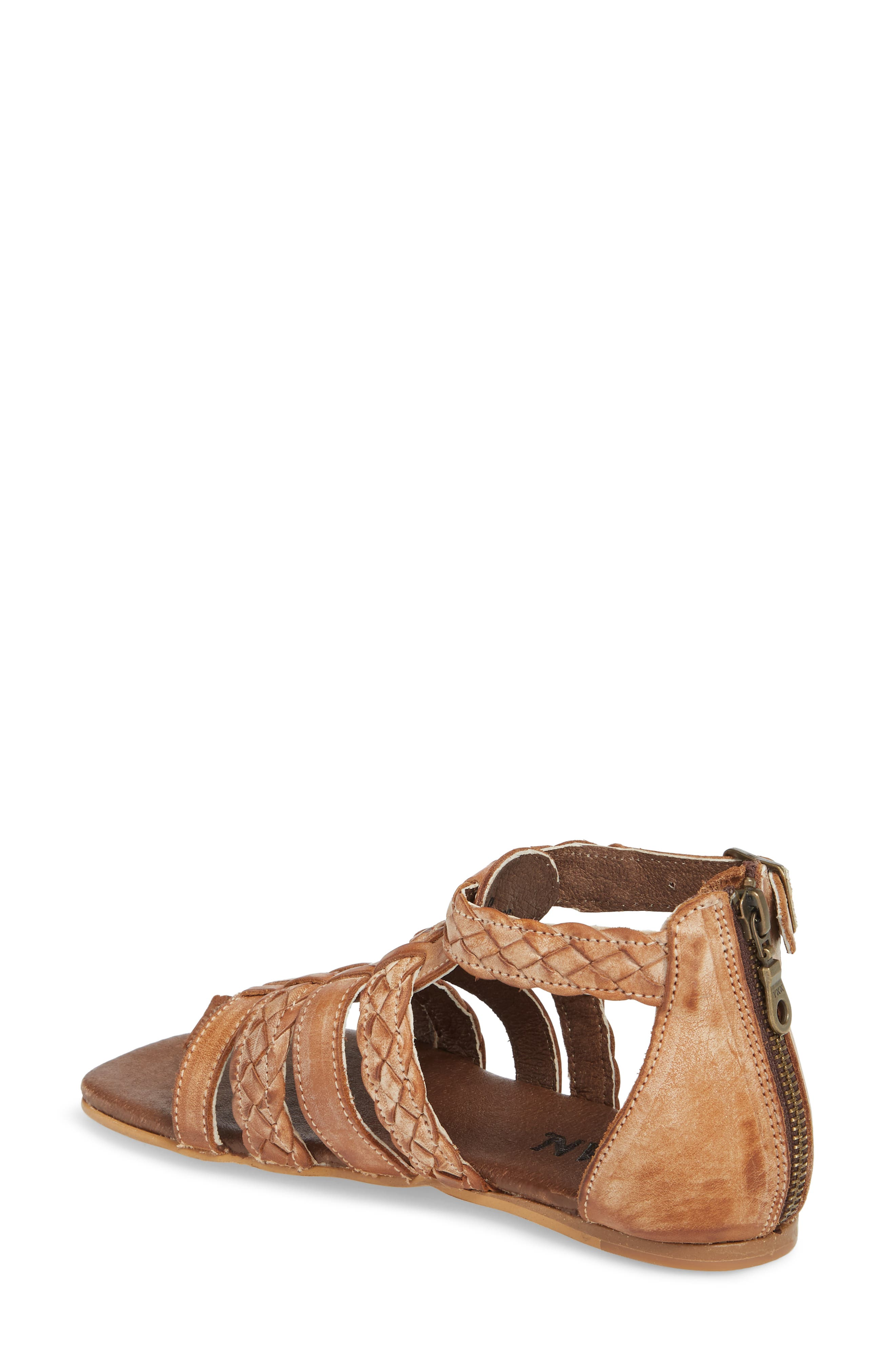 Kaliope Sandal,                             Alternate thumbnail 2, color,                             VICTORIA COGNAC/ WHITE