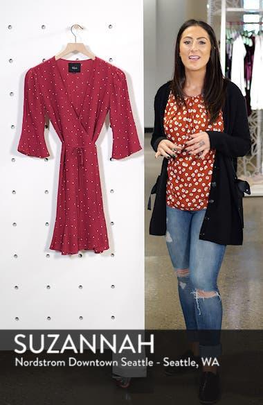 Aimee Ruffle Detail Wrap Dress, sales video thumbnail