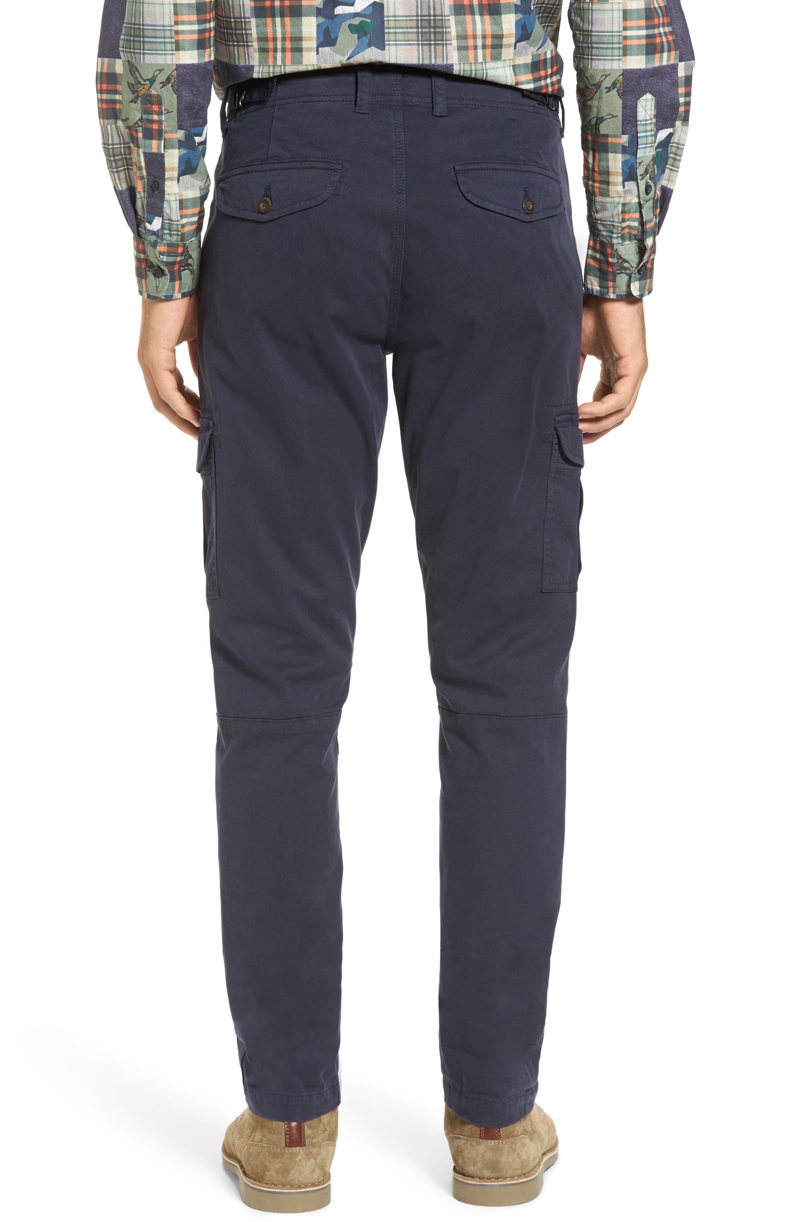 Stretch Twill Cargo Pants,                             Alternate thumbnail 6, color,