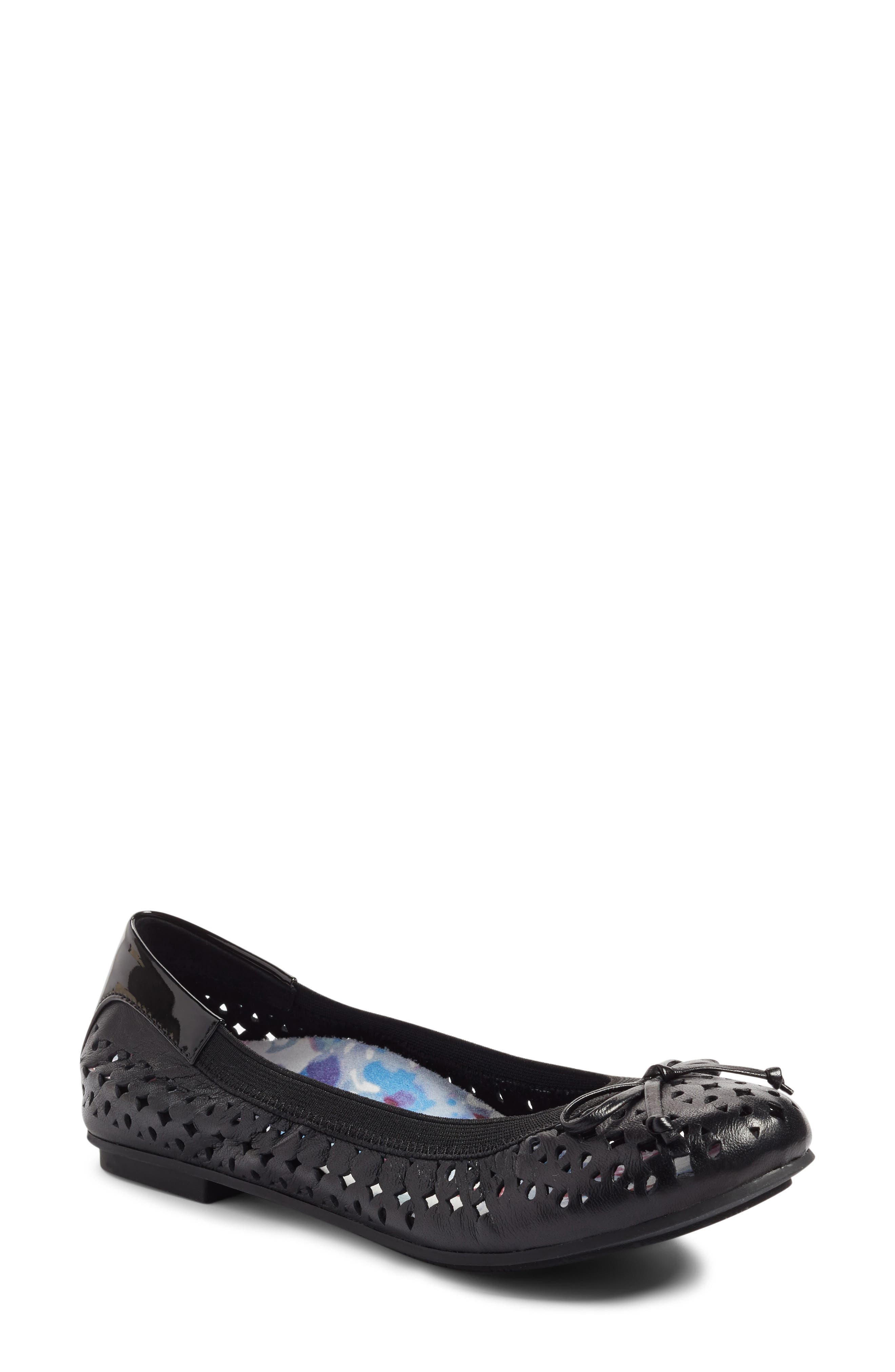 'Surin' Perforated Ballet Flat,                             Alternate thumbnail 7, color,