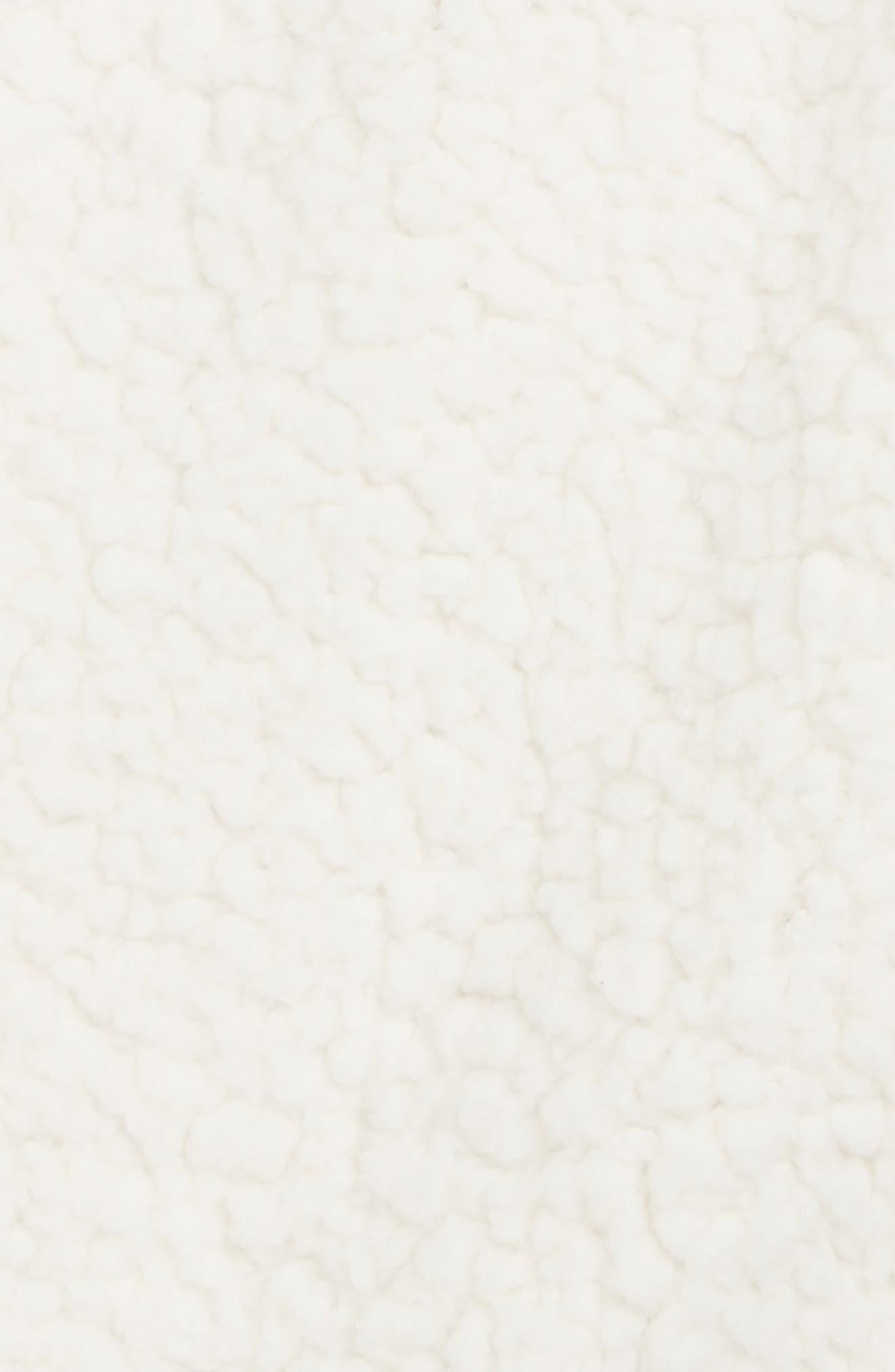 Faux Shearling Vest,                             Alternate thumbnail 2, color,                             OFF WHITE