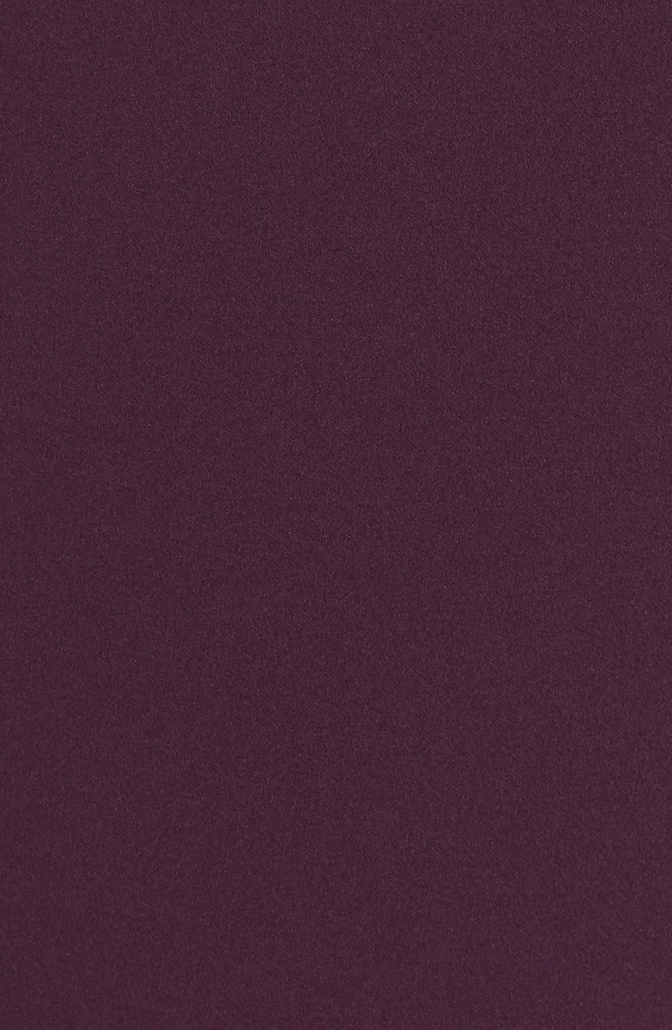 Choker Bell Sleeve Shift Dress,                             Alternate thumbnail 5, color,                             510