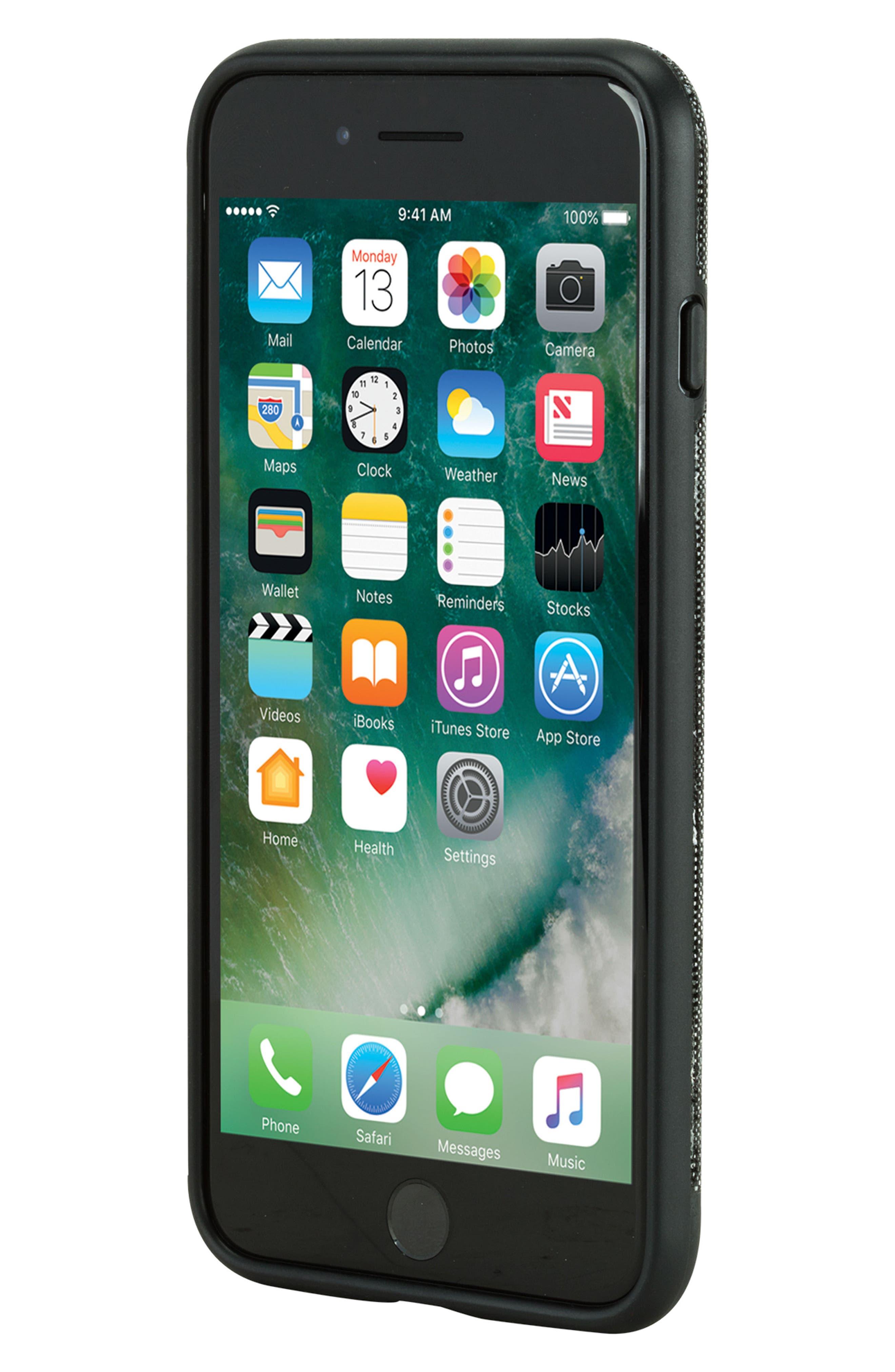Textured iPhone 7 Plus/8 Plus,                             Alternate thumbnail 7, color,                             001