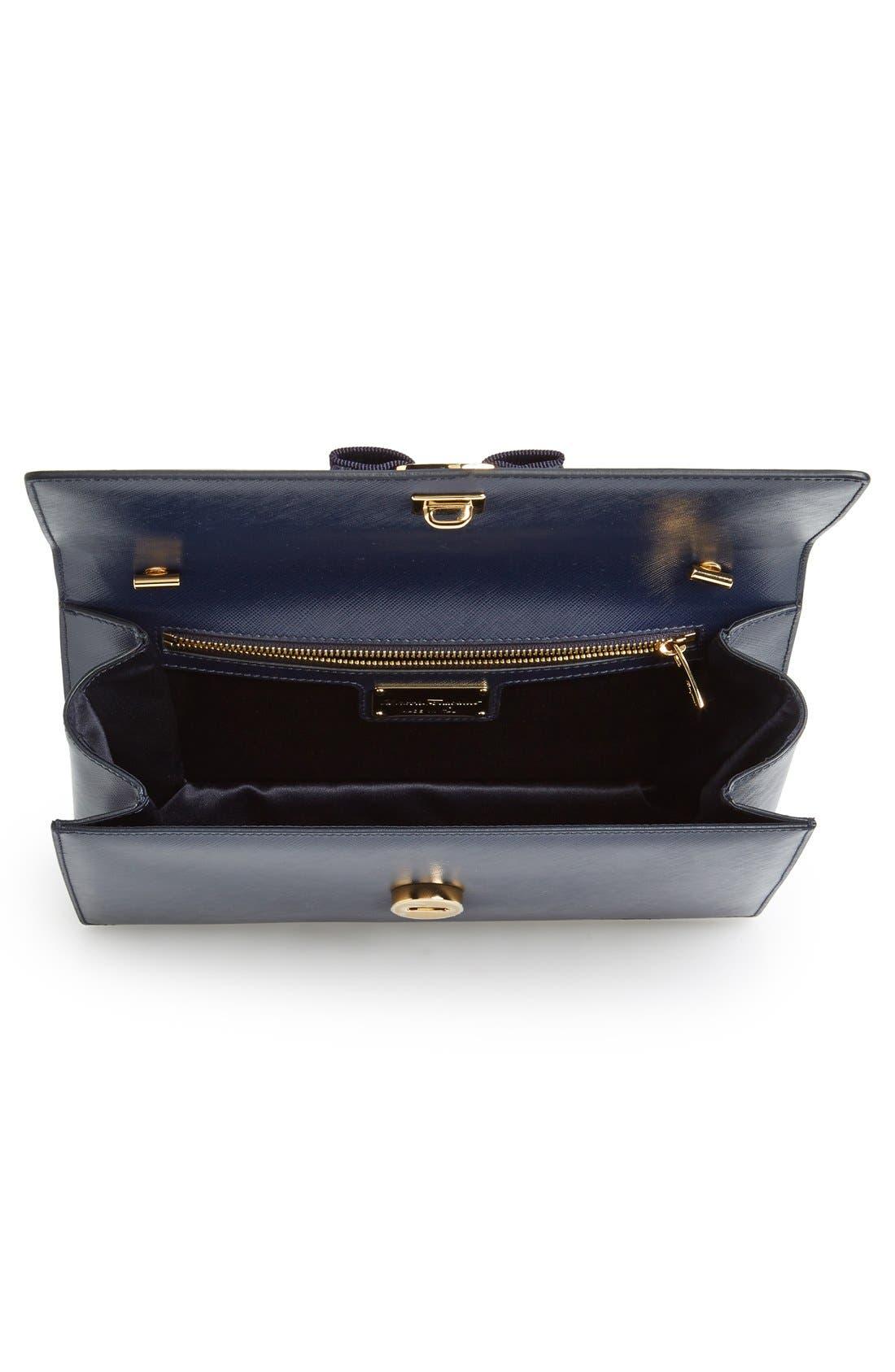 Saffiano Leather Shoulder Bag,                             Alternate thumbnail 11, color,