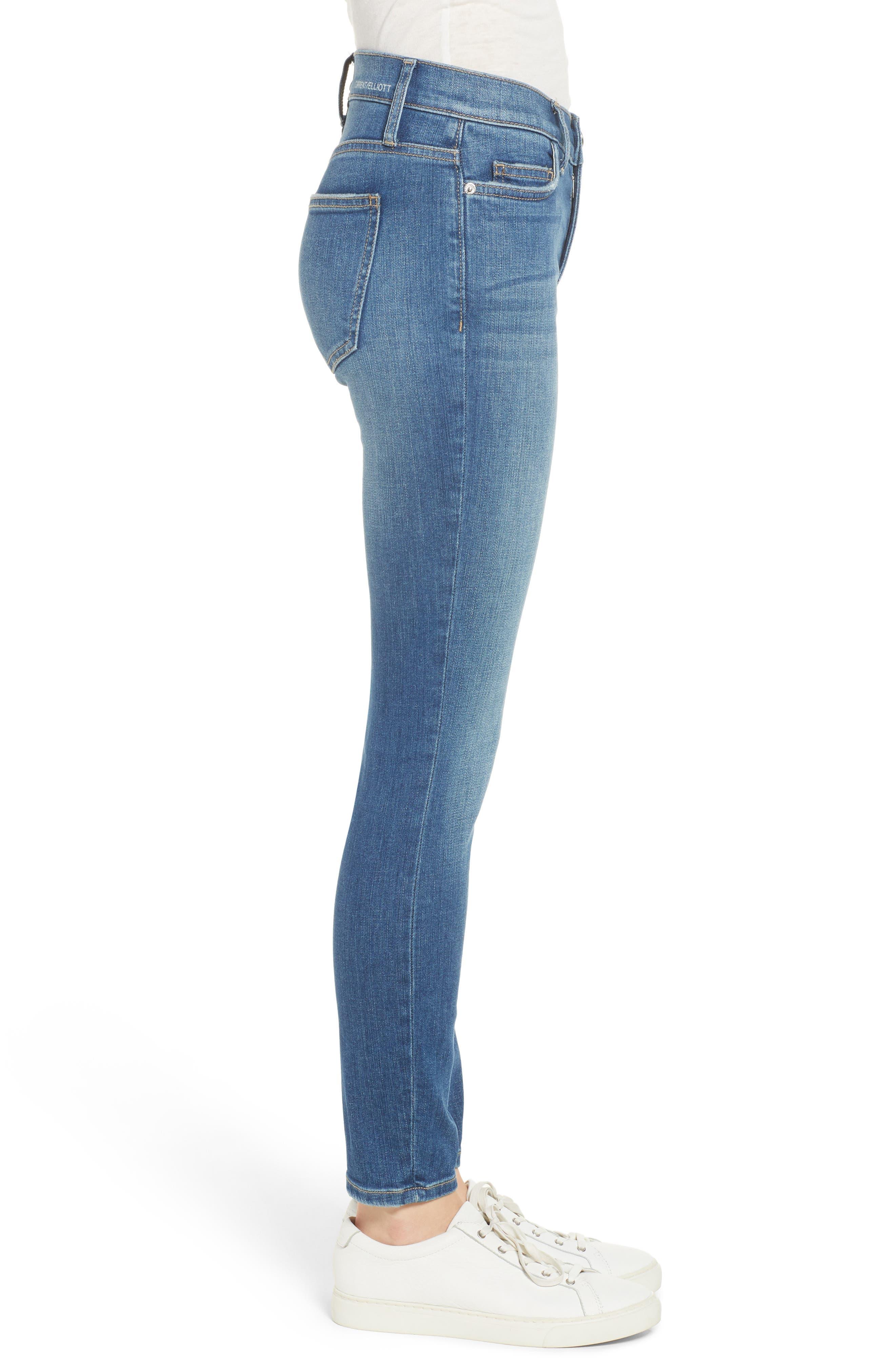 The Stiletto Skinny Jeans,                             Alternate thumbnail 3, color,                             470