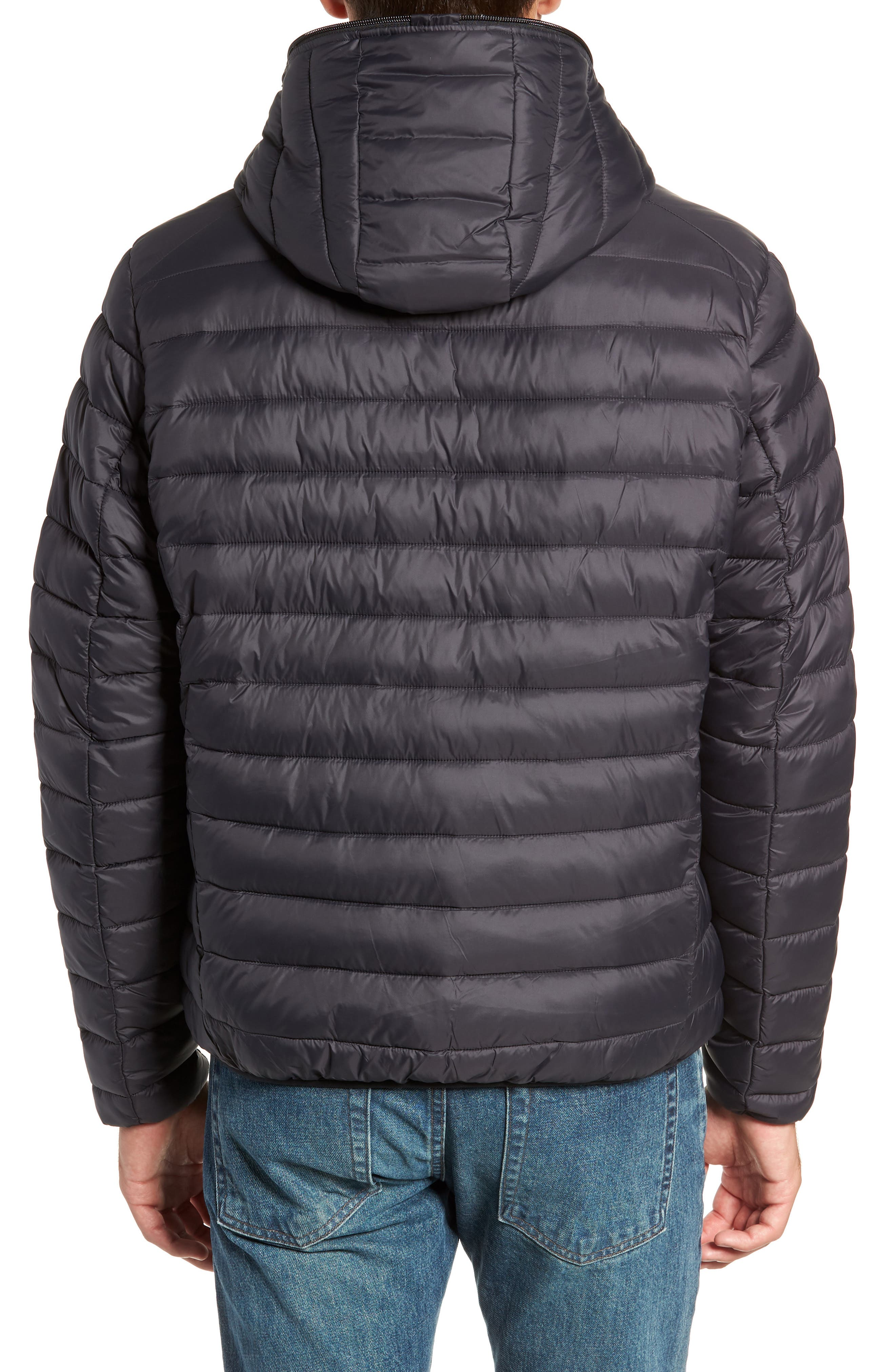 Hooded PLUMTECH<sup>®</sup> Insulated Packable Jacket,                             Alternate thumbnail 2, color,                             001