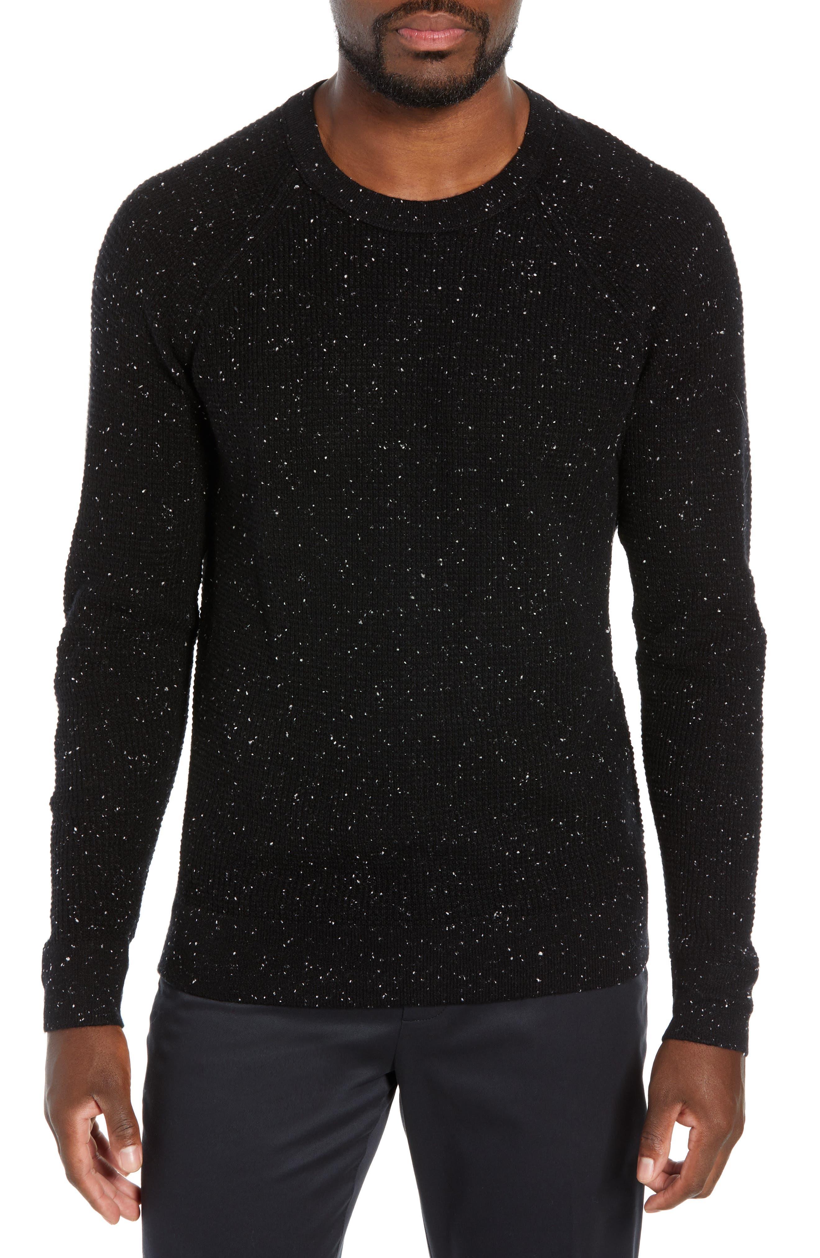 BONOBOS,                             Slim Fit Cashmere Sweater,                             Main thumbnail 1, color,                             001