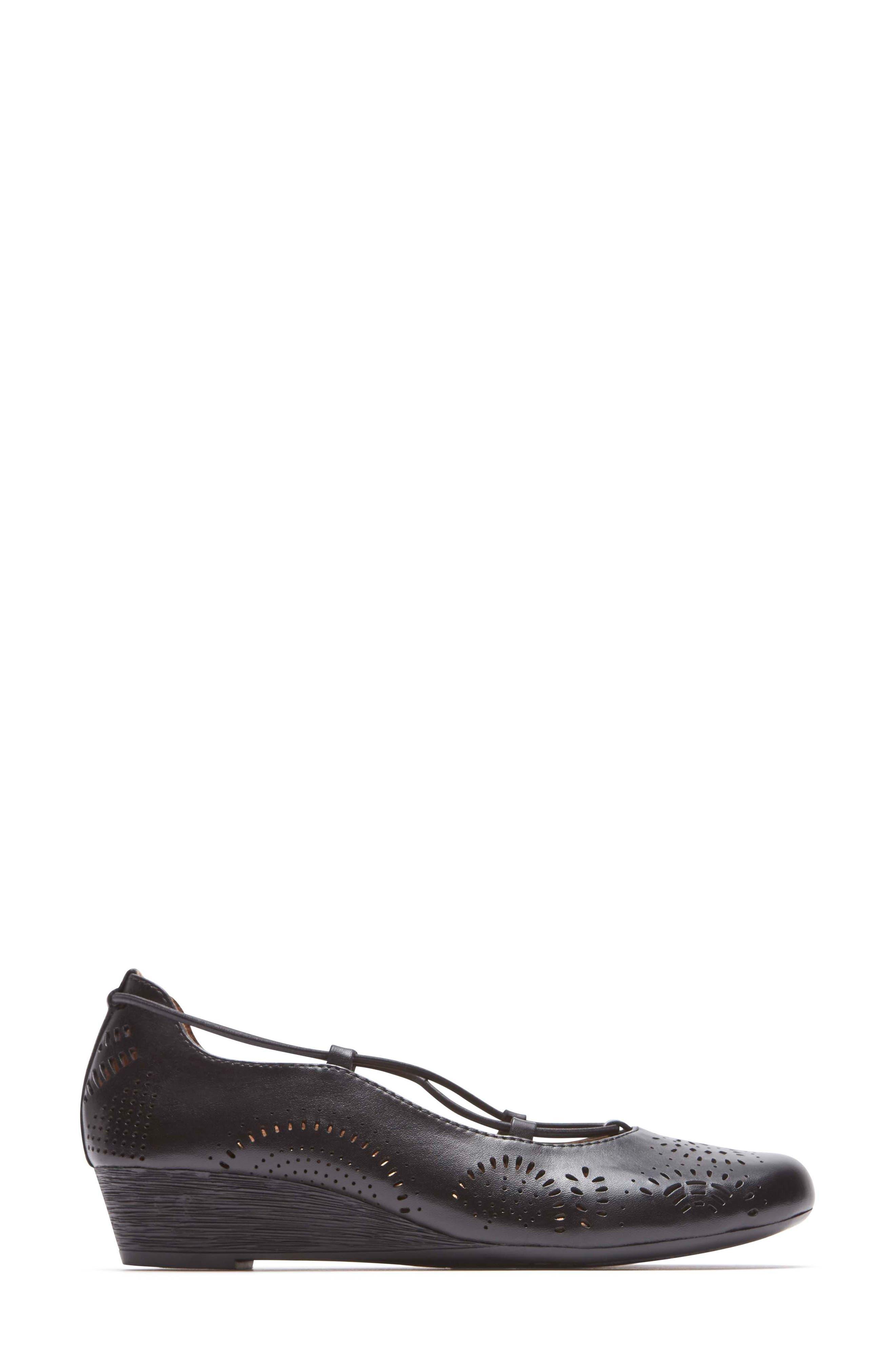 Janna Cross Strap Wedge Sandal,                             Alternate thumbnail 12, color,