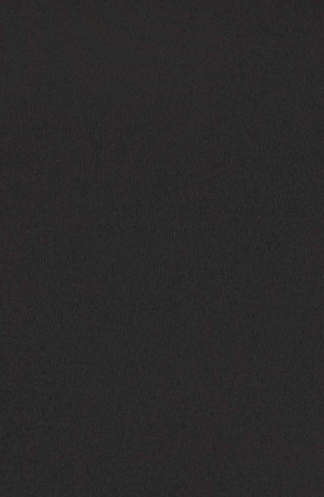 Lyla Fit & Flare Dress,                             Alternate thumbnail 5, color,                             001