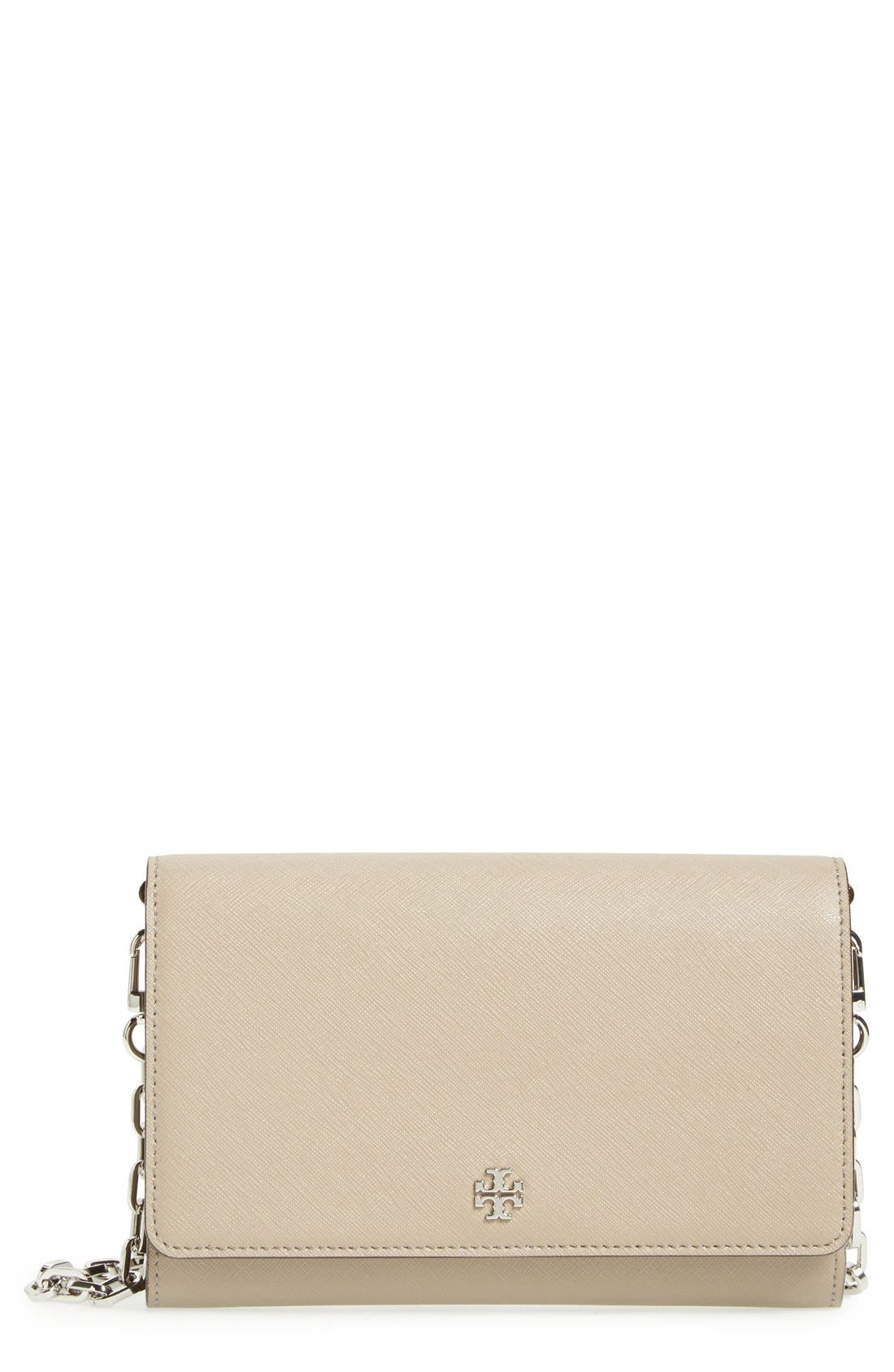 'Robinson' Leather Wallet on a Chain,                             Main thumbnail 2, color,