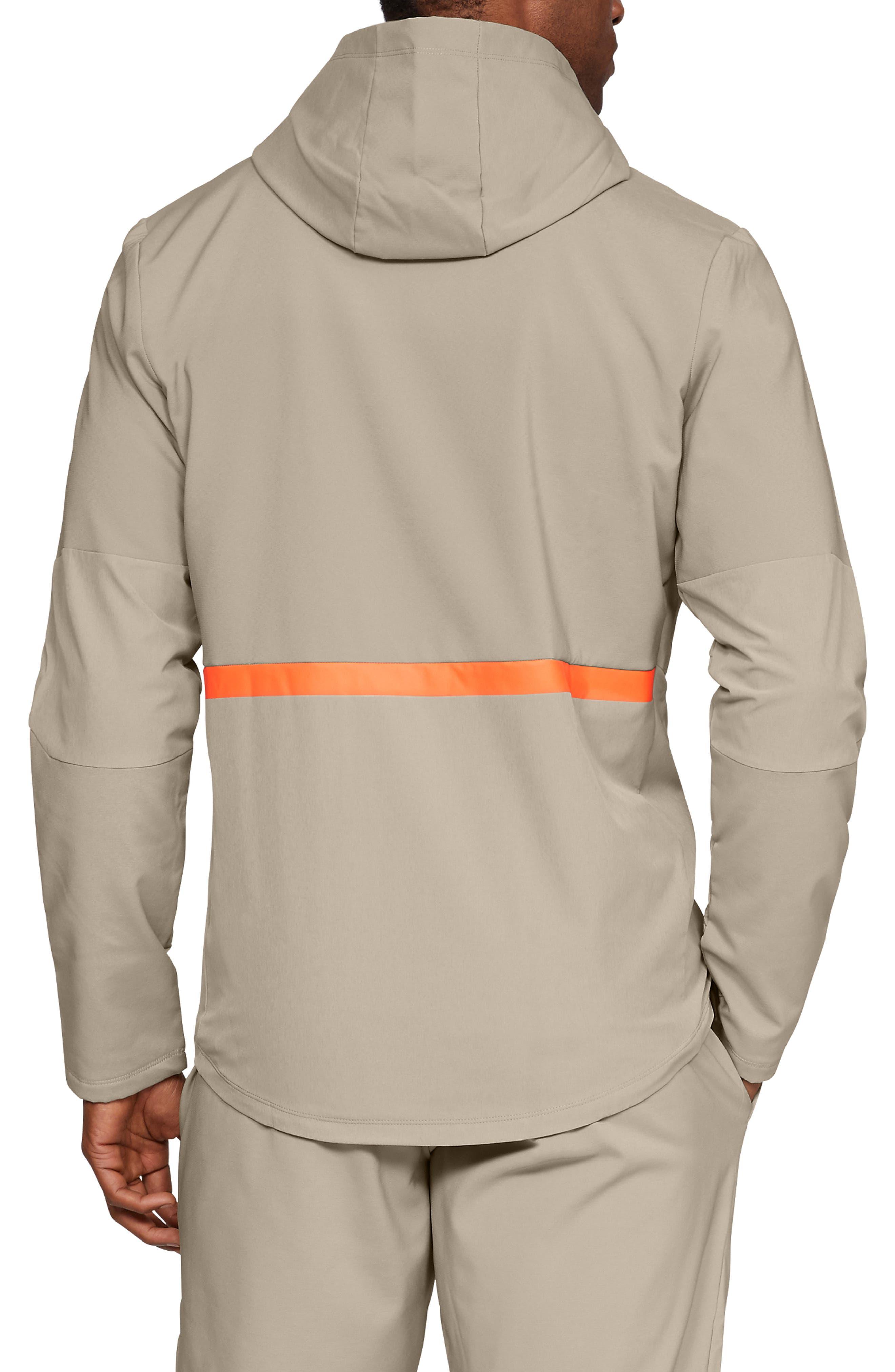 Storm Cyclone Water Repellent Hooded Jacket,                             Alternate thumbnail 2, color,                             CITY KHAKI/ BLACK