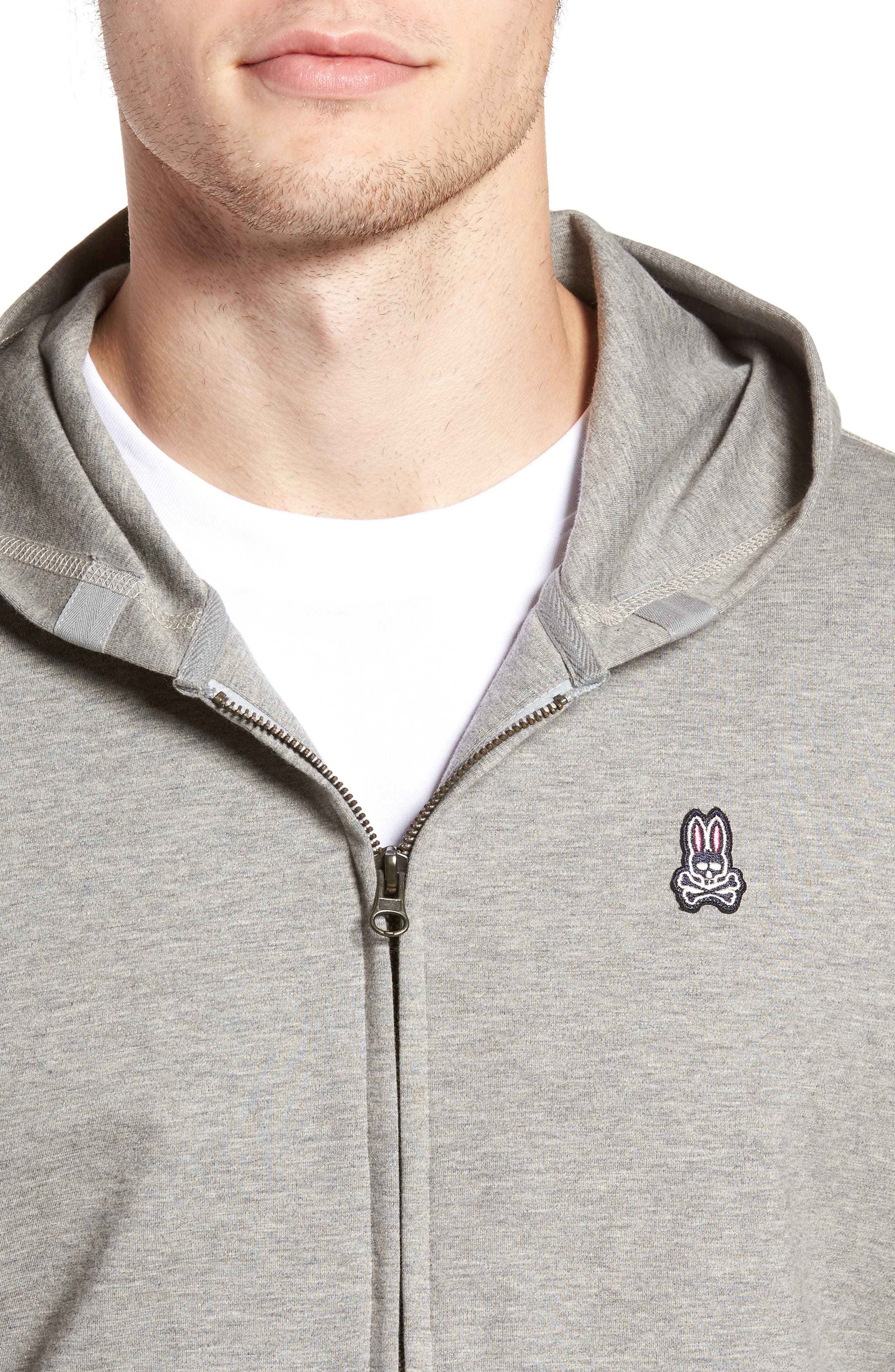 Zip Hoodie,                             Alternate thumbnail 7, color,