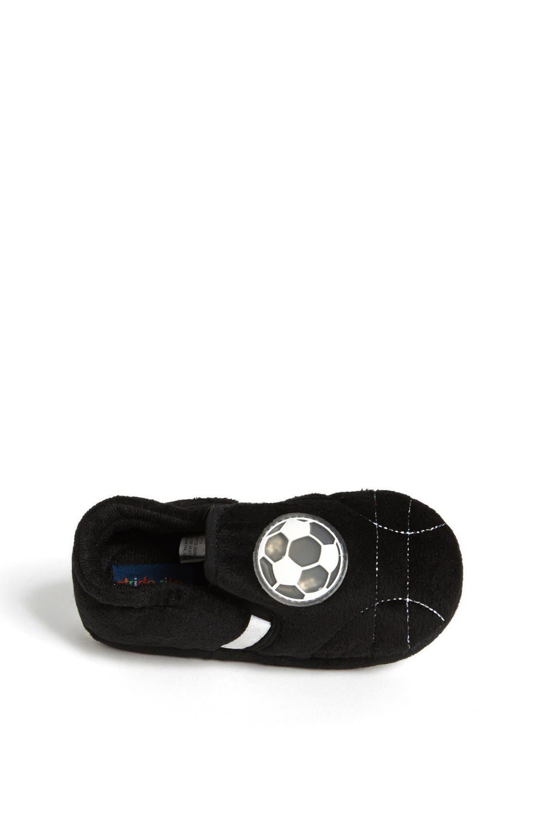 Light Up Soccer Ball Slippers,                             Alternate thumbnail 3, color,                             001