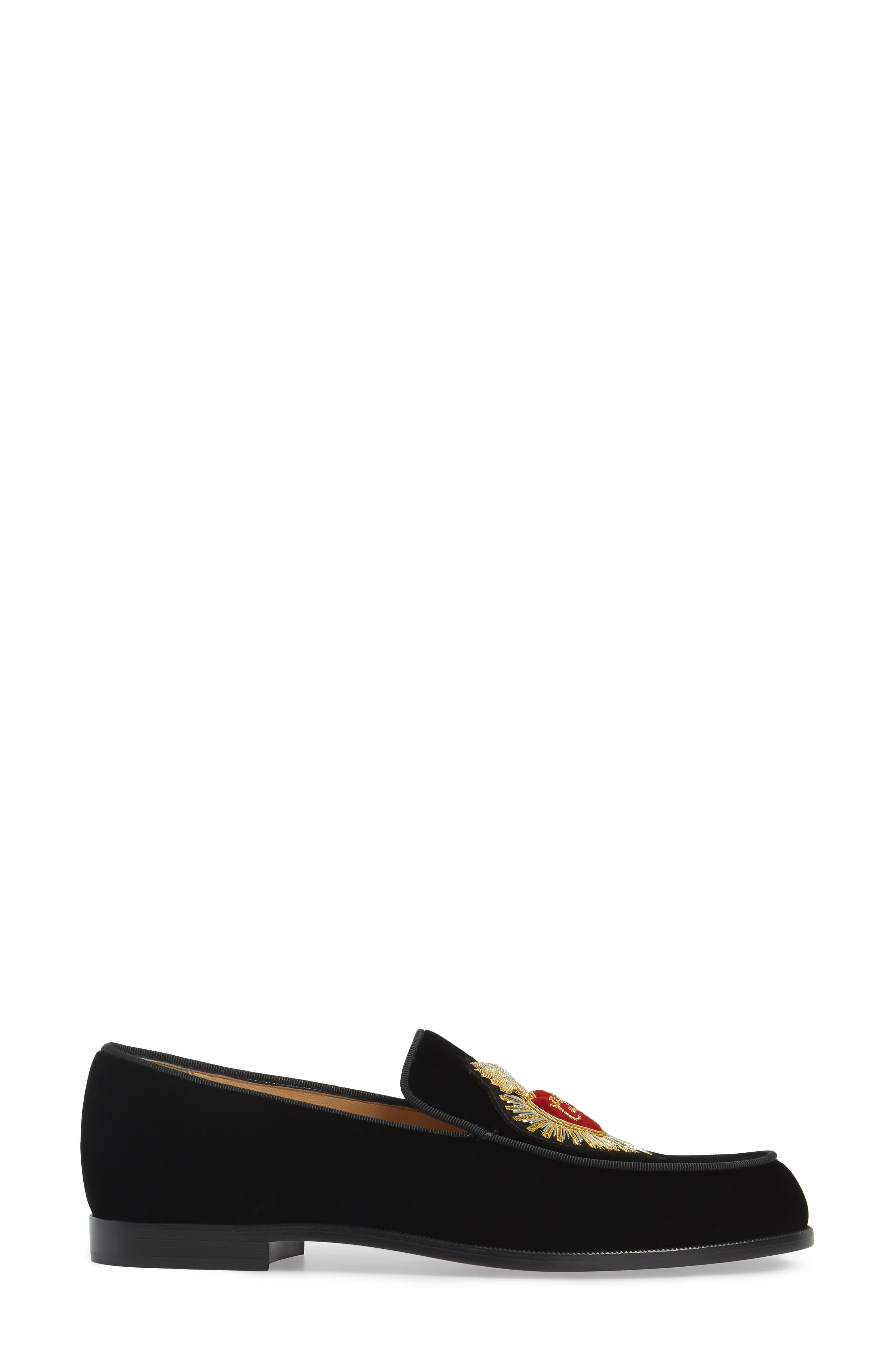 Perou Corazon Loafer,                             Alternate thumbnail 4, color,                             001