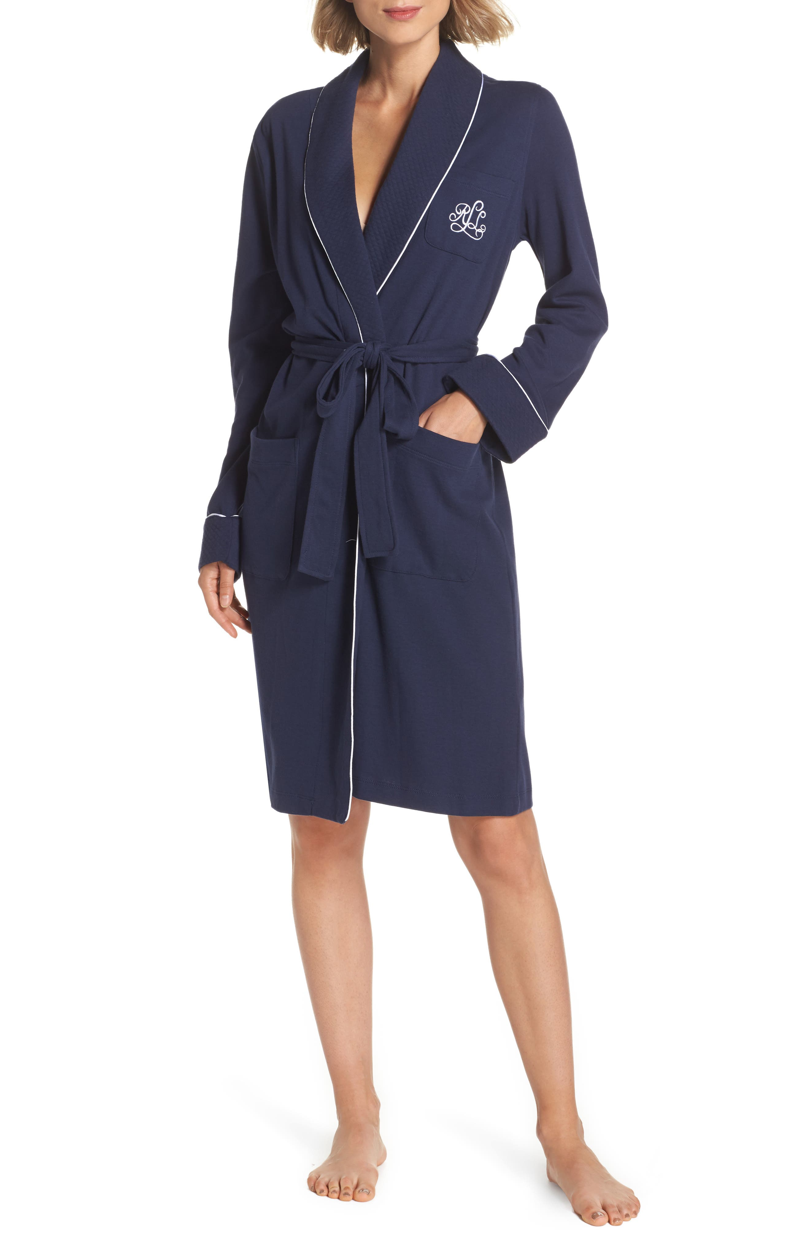 Quilted Collar Robe,                             Alternate thumbnail 23, color,