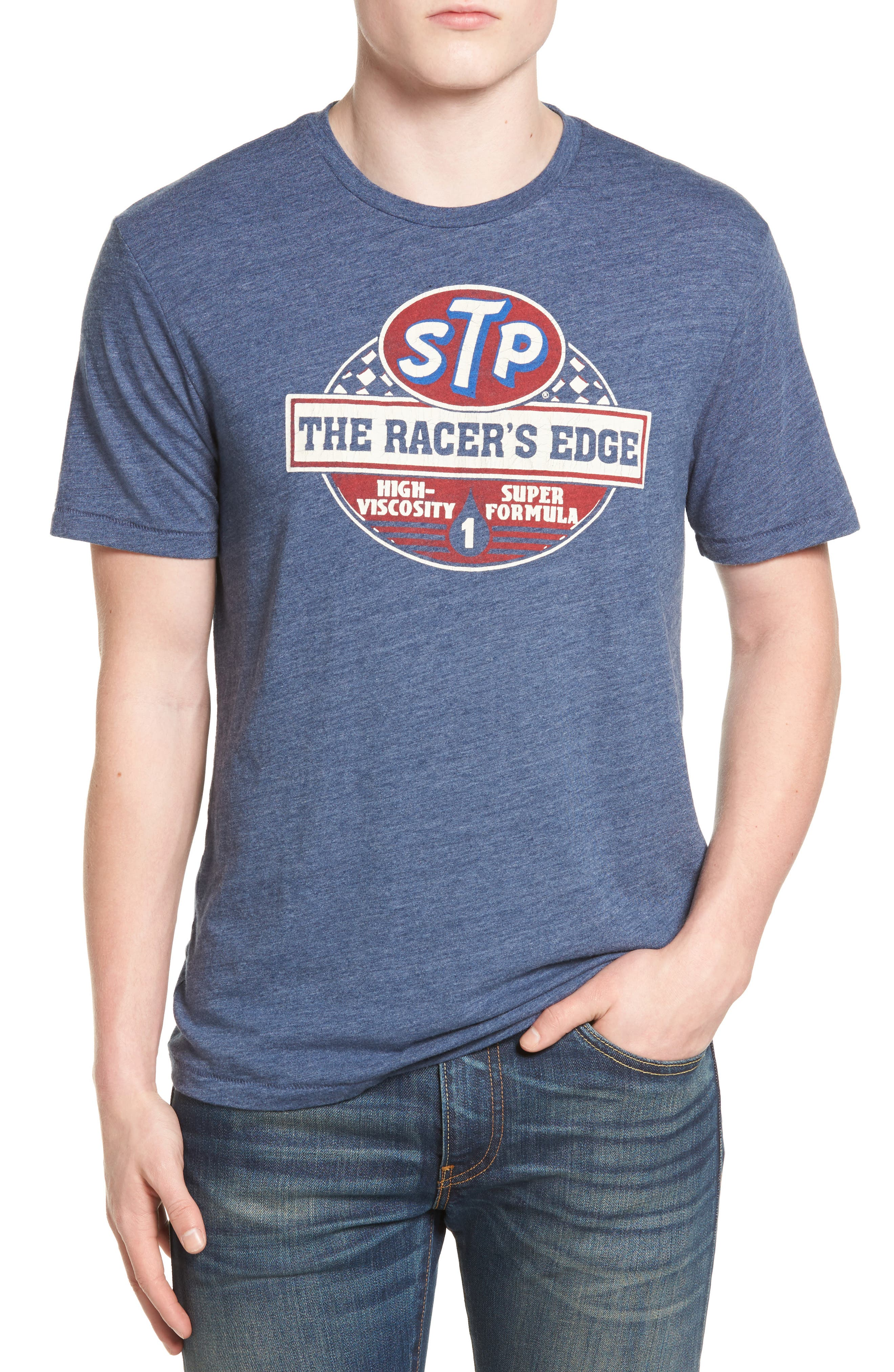 STP Racer's Edge Graphic T-Shirt, Main, color, 410