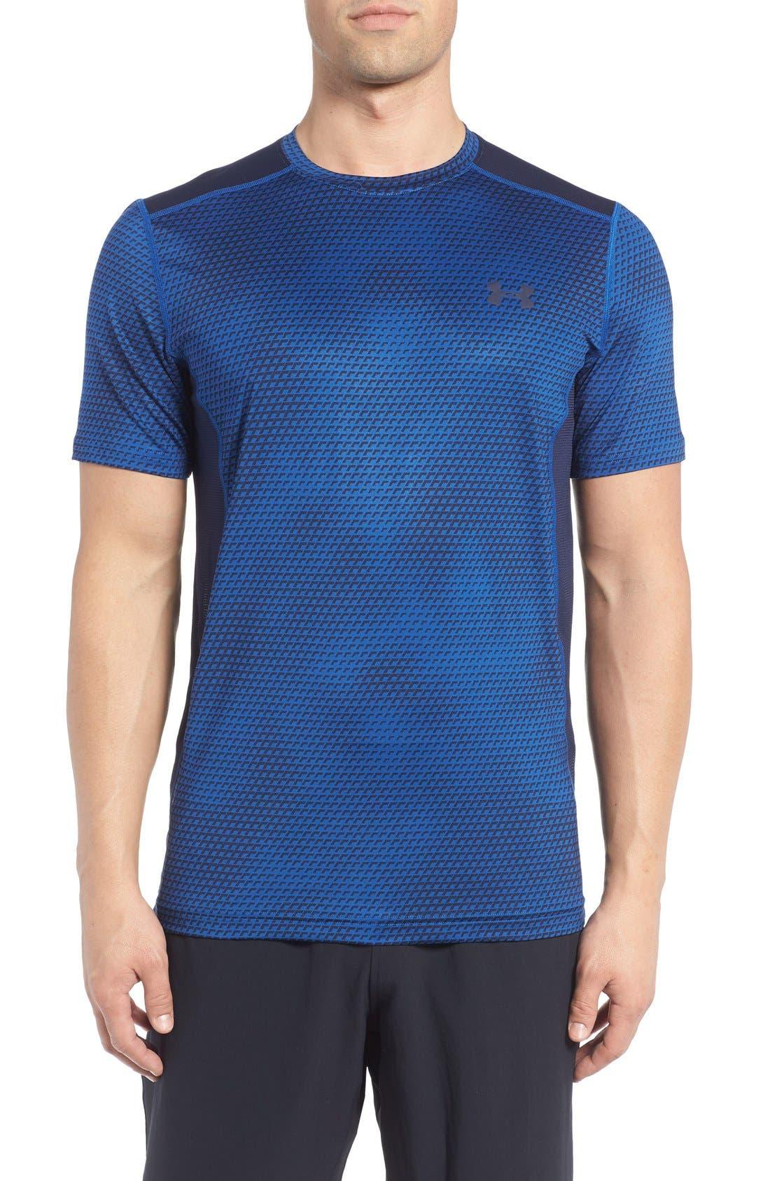 'Raid' HeatGear<sup>®</sup> Training T-Shirt,                             Main thumbnail 21, color,