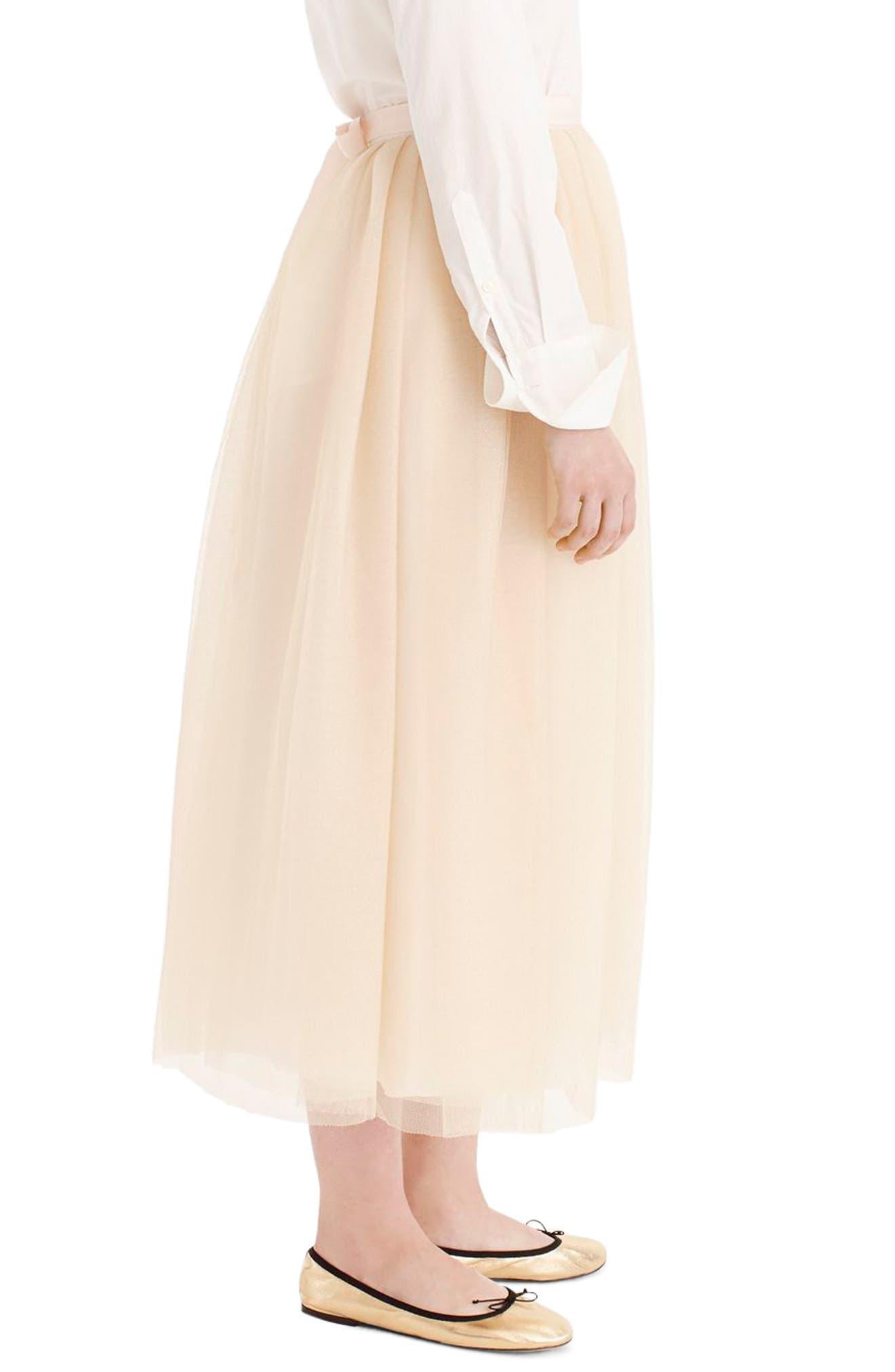 Tulle Ball Skirt,                             Alternate thumbnail 3, color,                             700