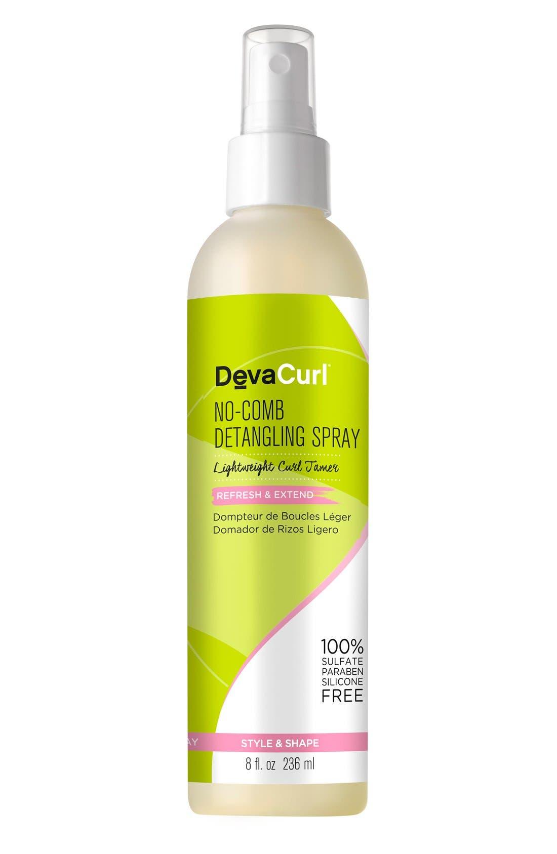 No-Comb Detangling Spray Lightweight Curl Tamer,                             Main thumbnail 1, color,                             NO COLOR