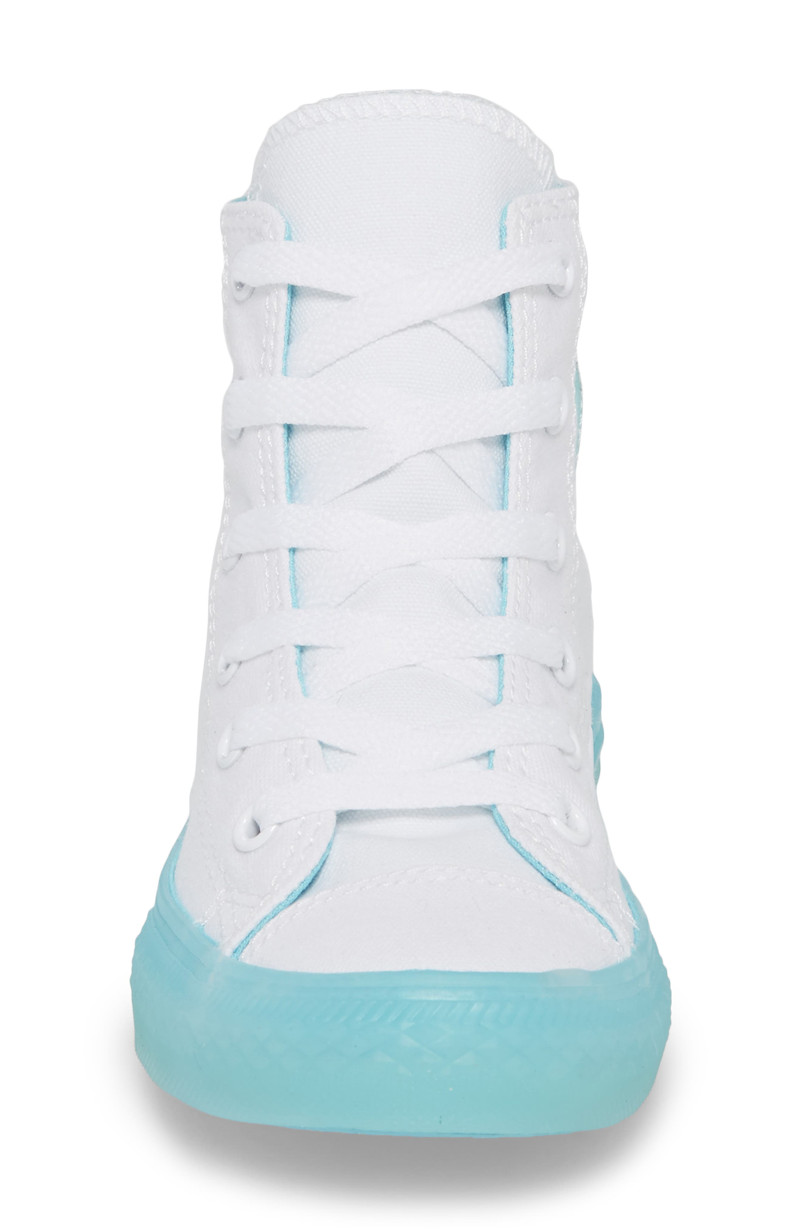 Chuck Taylor<sup>®</sup> All Star<sup>®</sup> Jelly High Top Sneaker,                             Alternate thumbnail 4, color,                             405