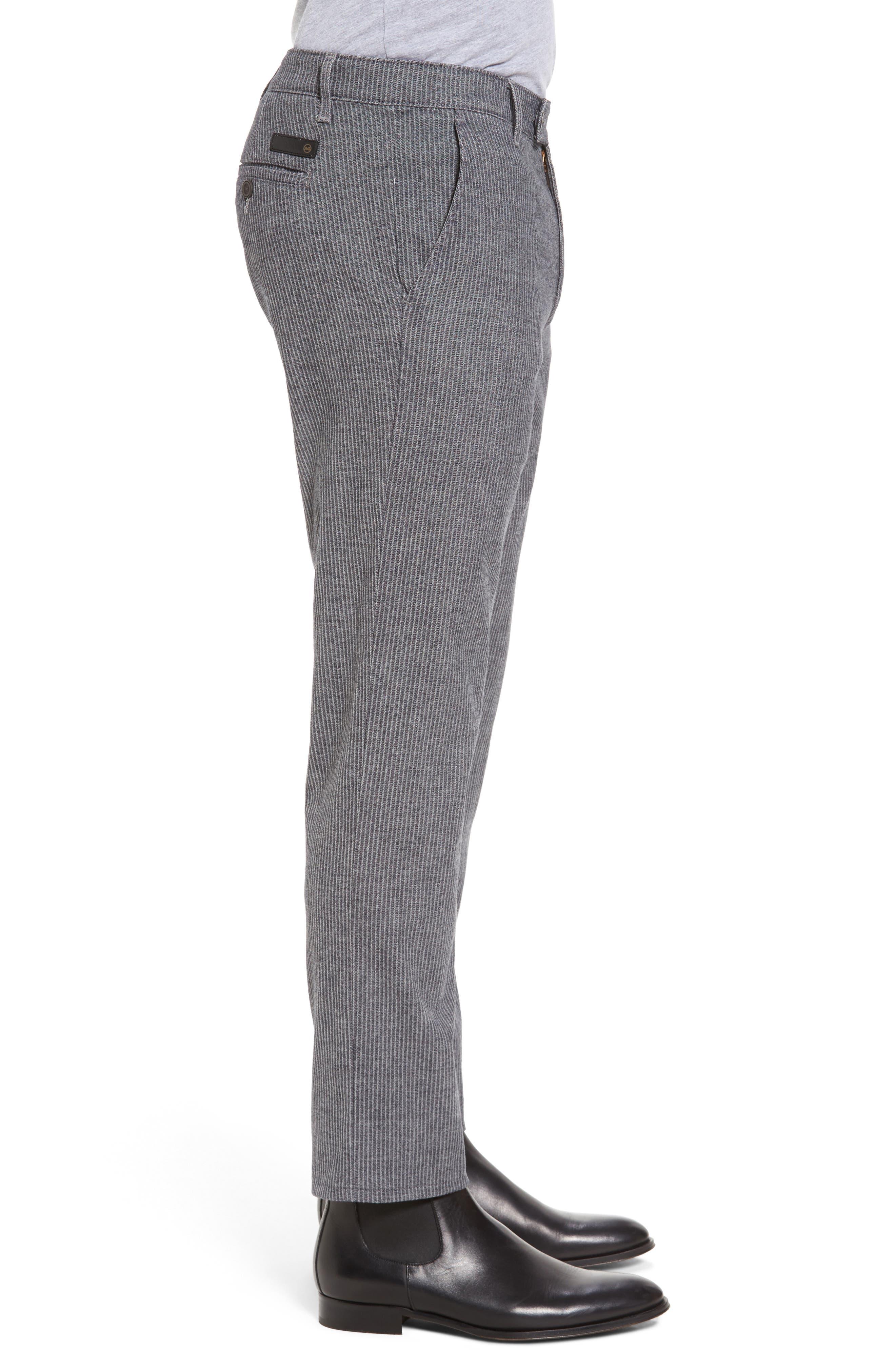 Marshall Slim Fit Pinstripe Pants,                             Alternate thumbnail 3, color,                             028