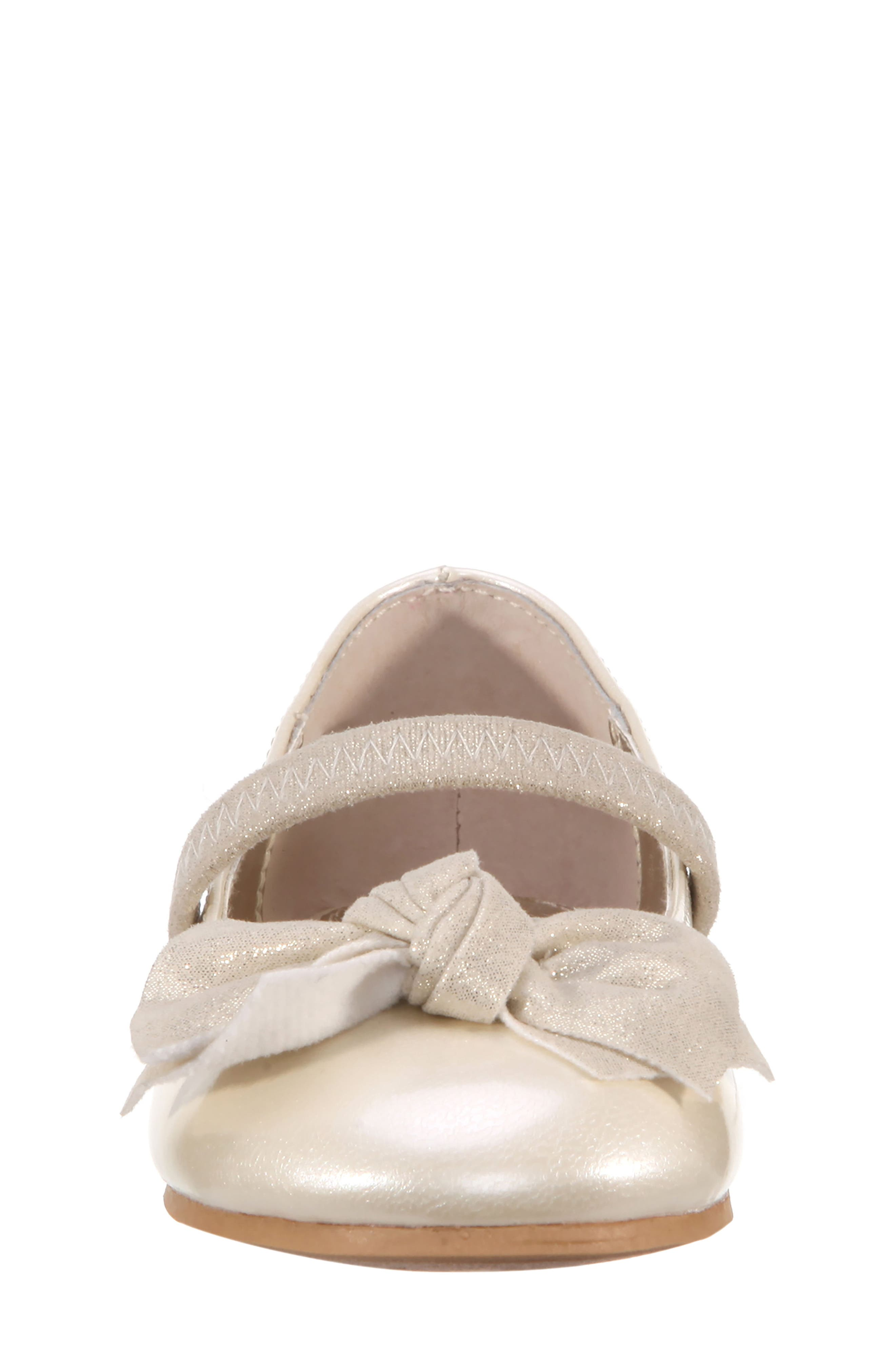 Kaytelyn-T Glitter Bow Ballet Flat,                             Alternate thumbnail 28, color,