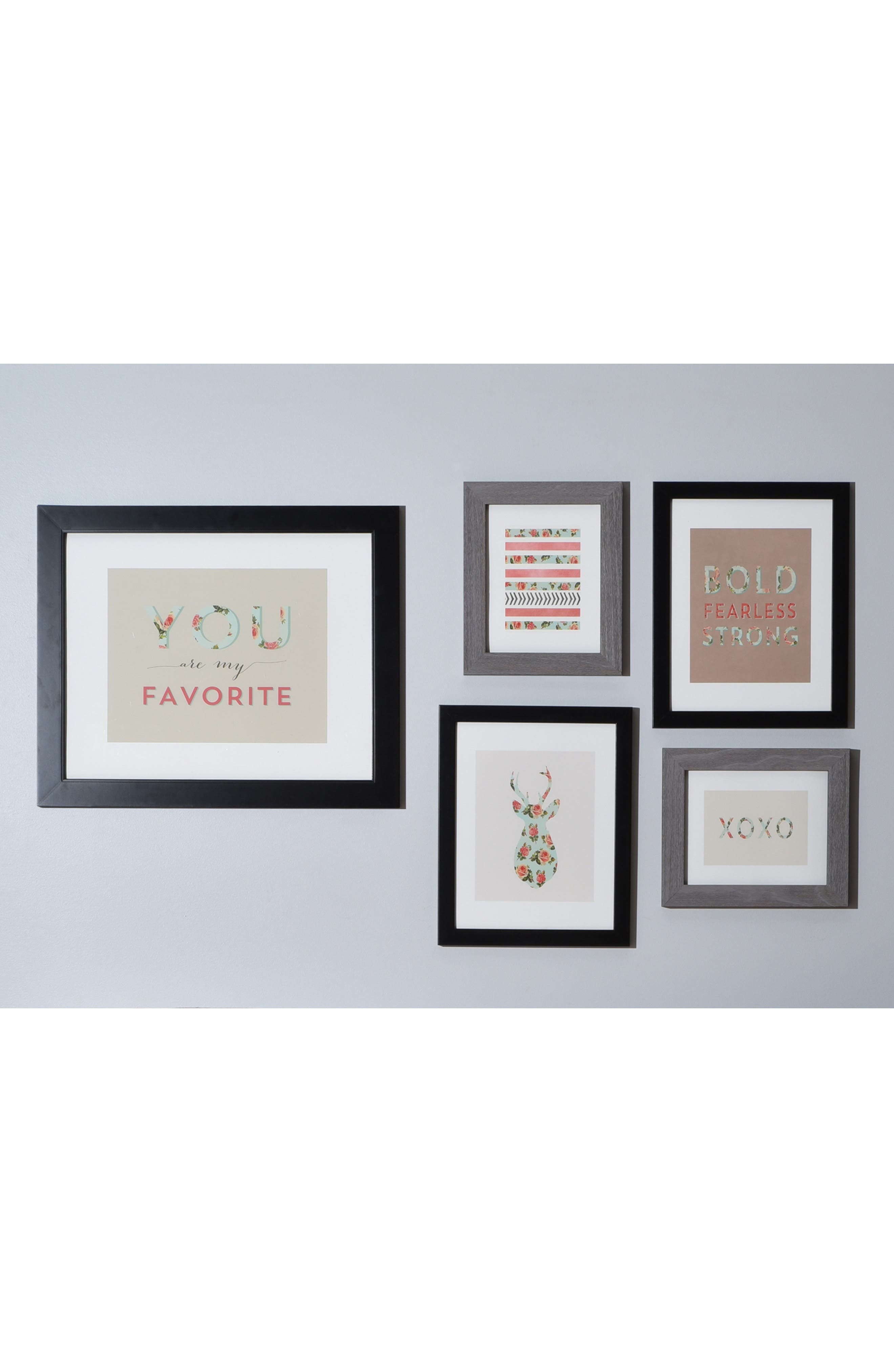 'You Are My Fave' Wall Art Gallery,                             Alternate thumbnail 2, color,                             100