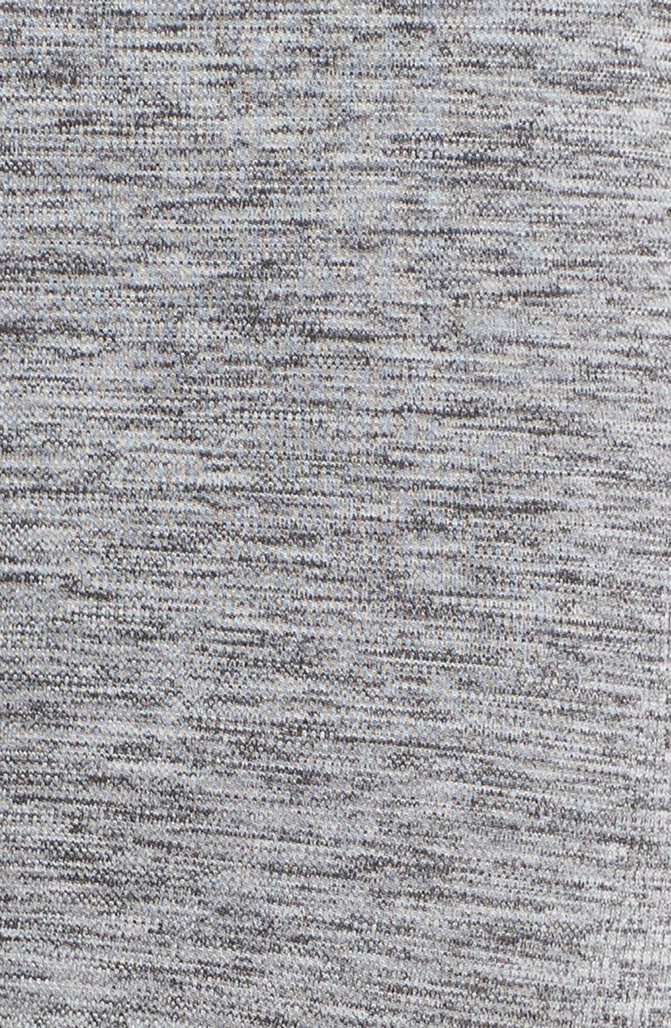 Six Eight Stripe Leggings,                             Alternate thumbnail 6, color,                             GREY MARL
