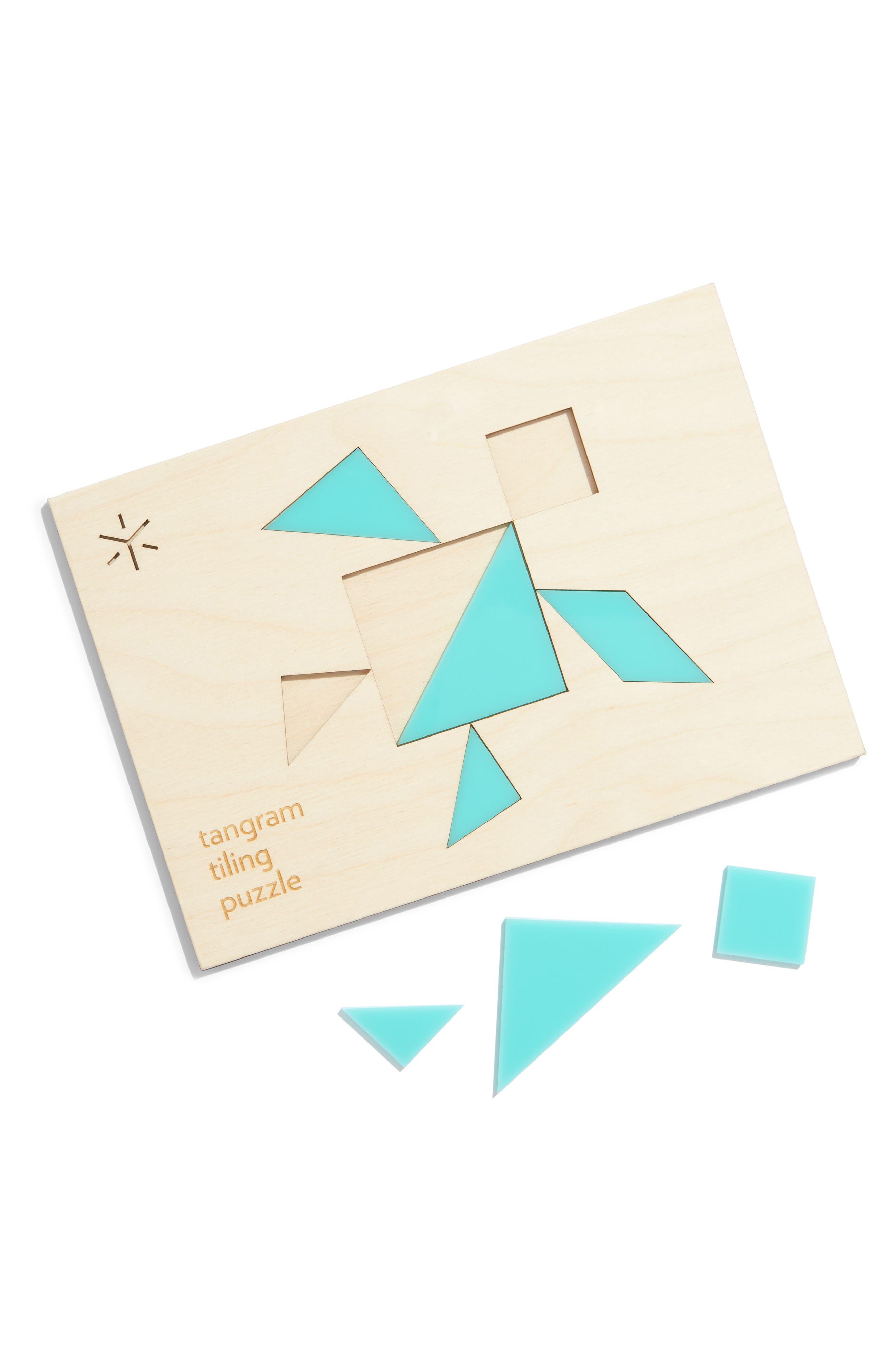 Tiling Puzzle,                             Alternate thumbnail 2, color,                             BLUE TURTLE