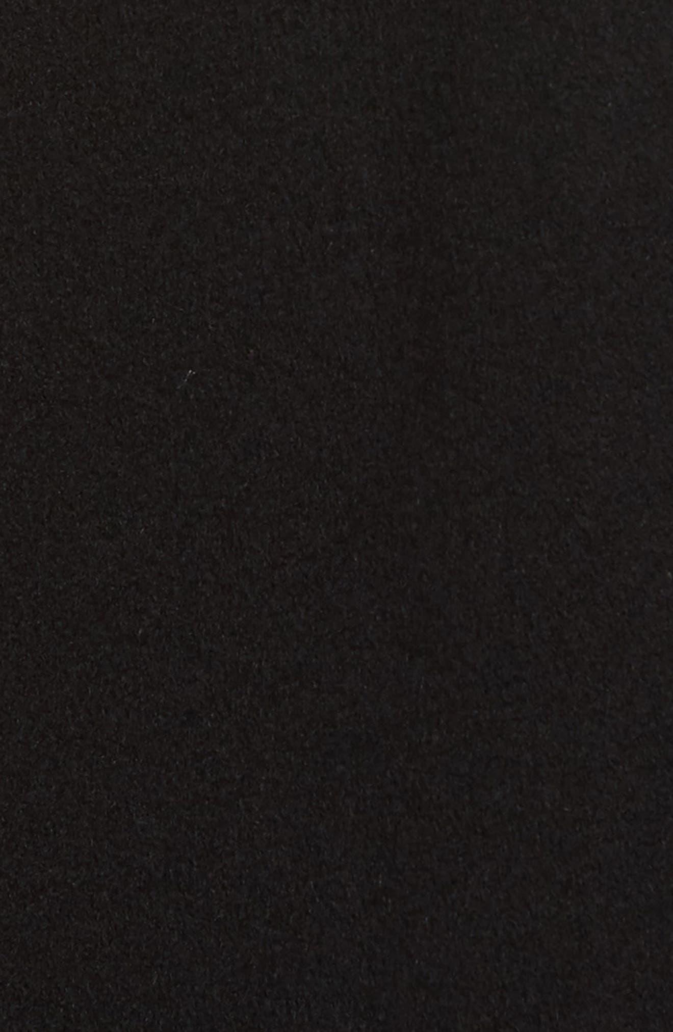 Cashmere Long Coat,                             Alternate thumbnail 6, color,                             001