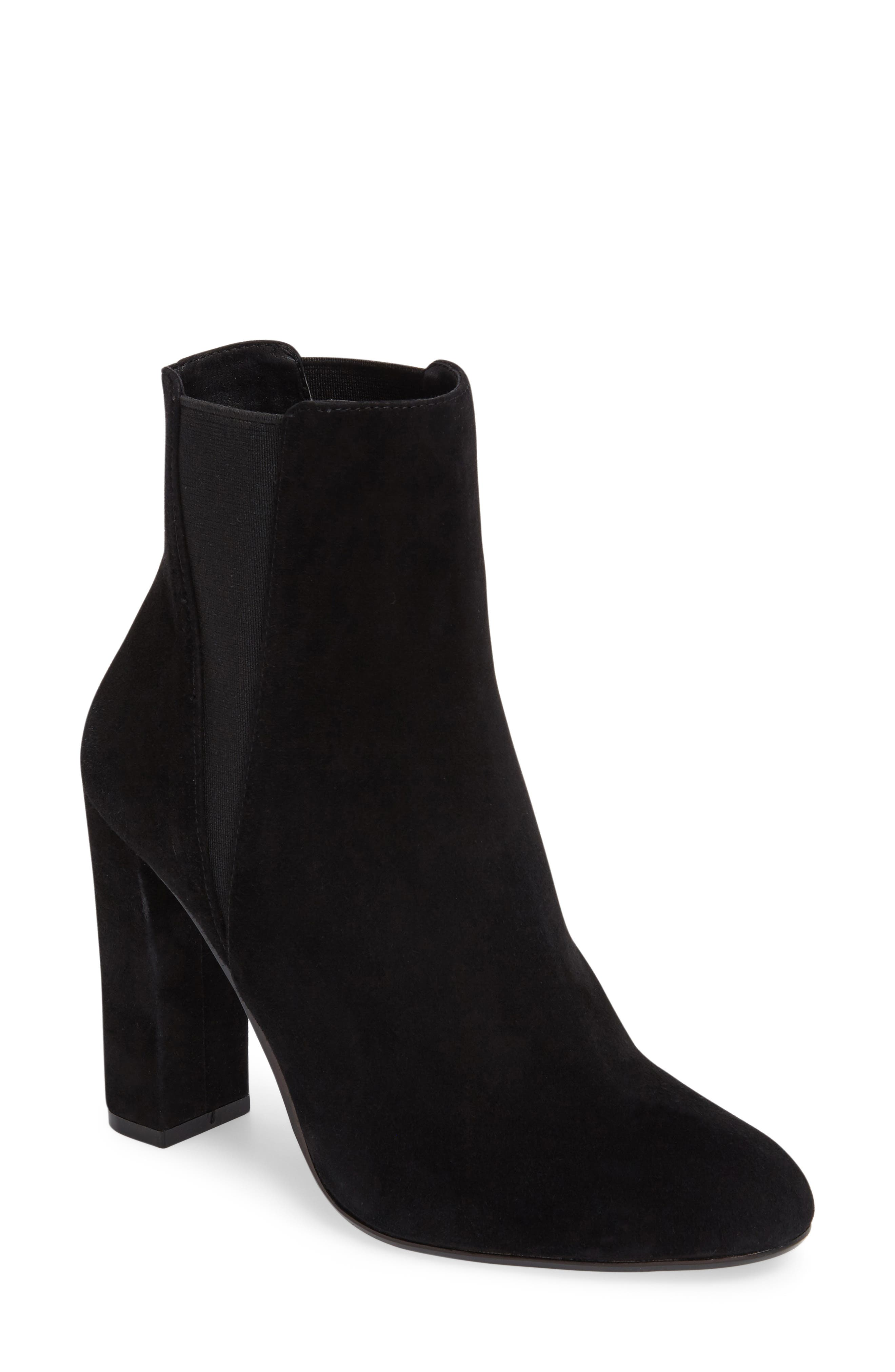 Effect Block Heel Bootie,                         Main,                         color, 006